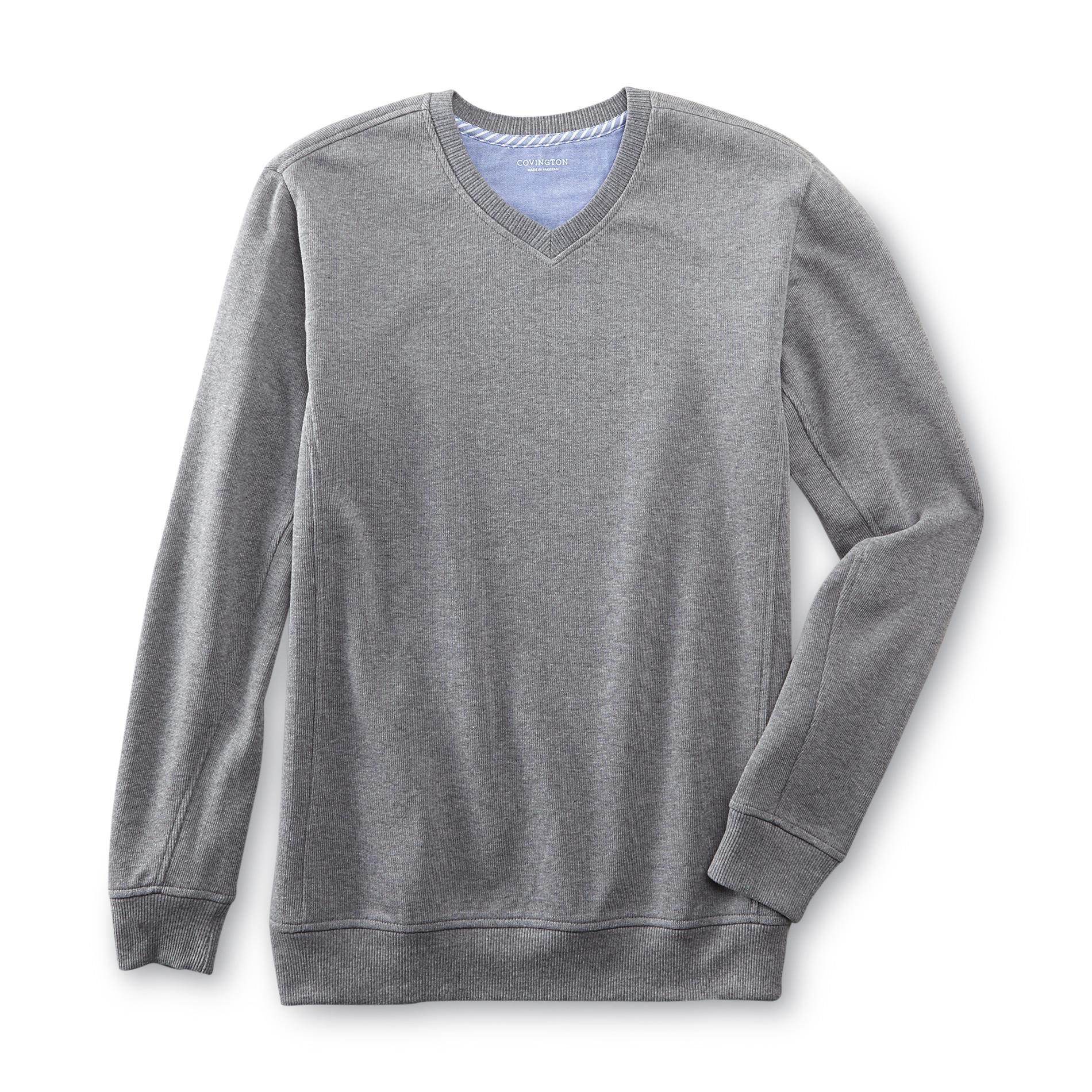 Men's Big & Tall V-Neck Sweatshirt