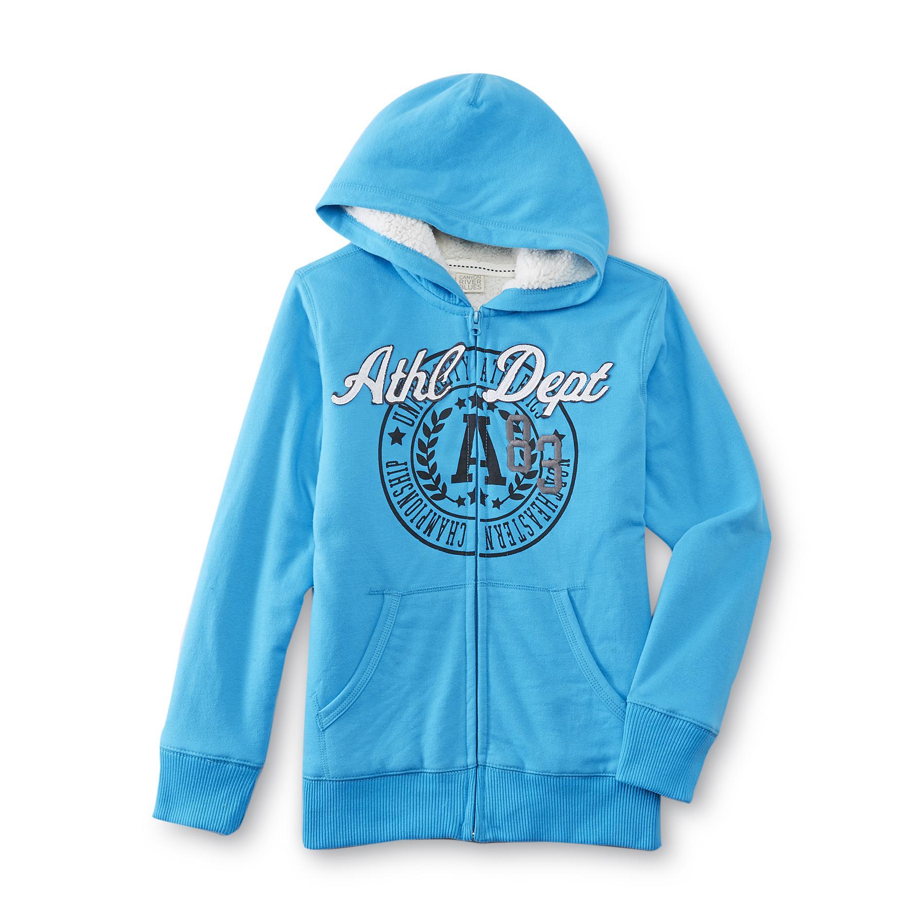 Boy's Fleece Hoodie Jacket - Athletic Department