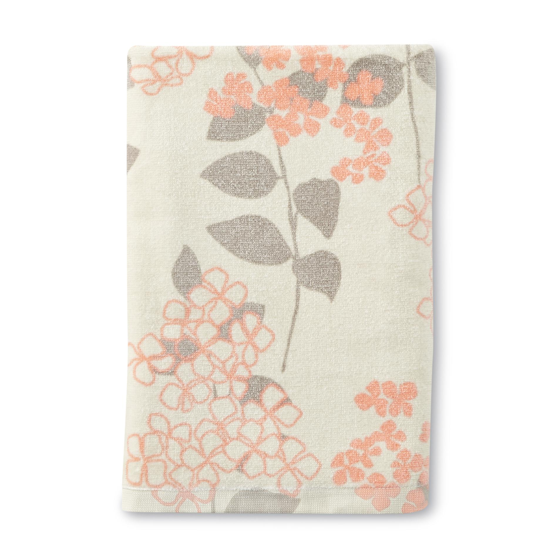 Essential Home Bath Towel - Floral Print