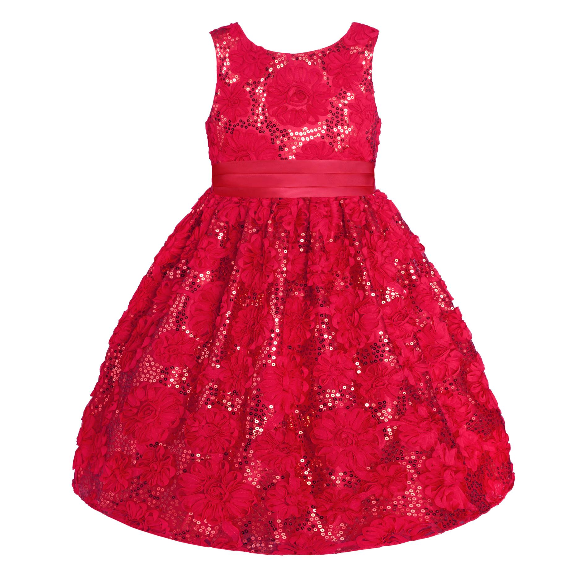 Infant & Toddler Girls' Sequin Occasion Dress