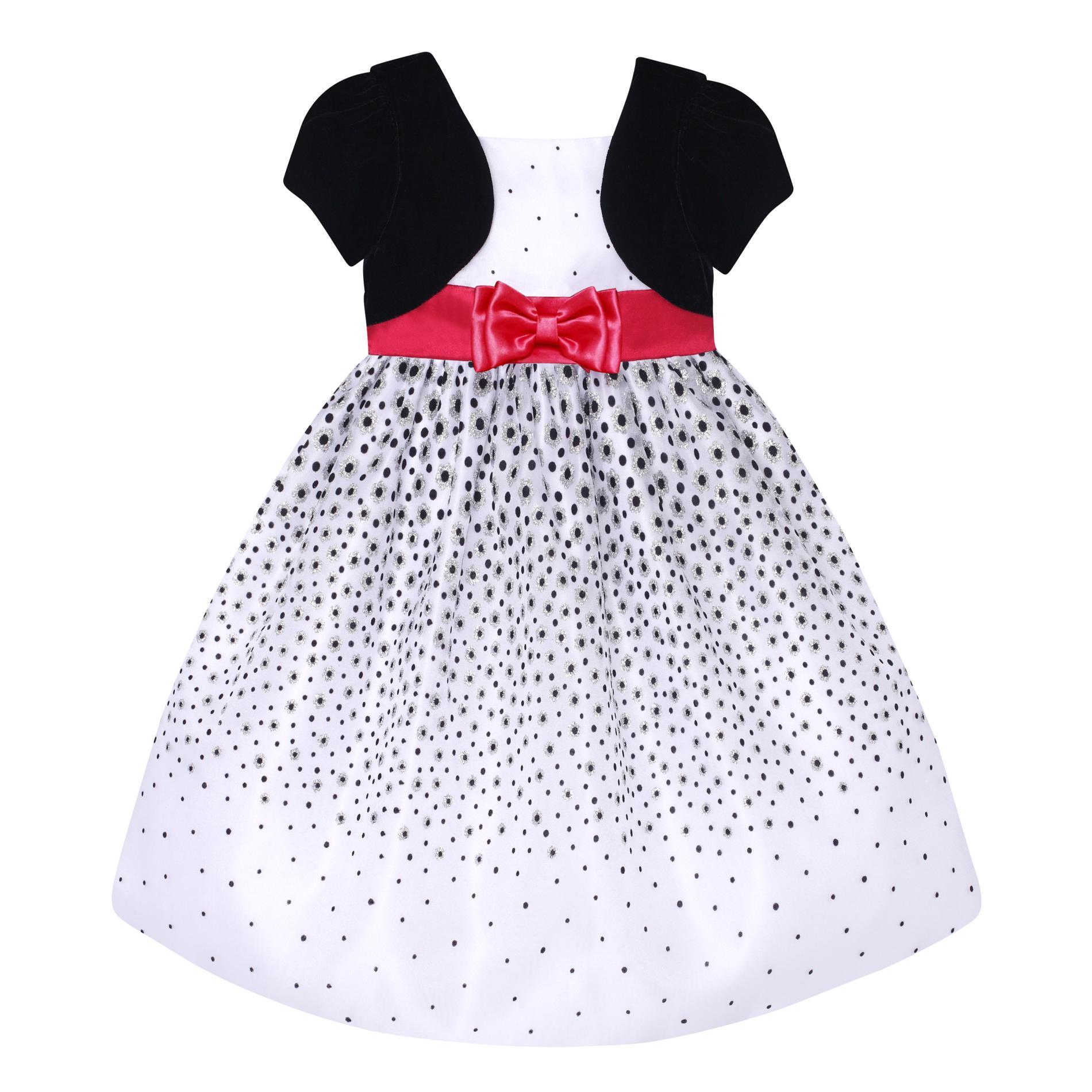 Love Infant & Toddler Girl's Bolero Party Dress
