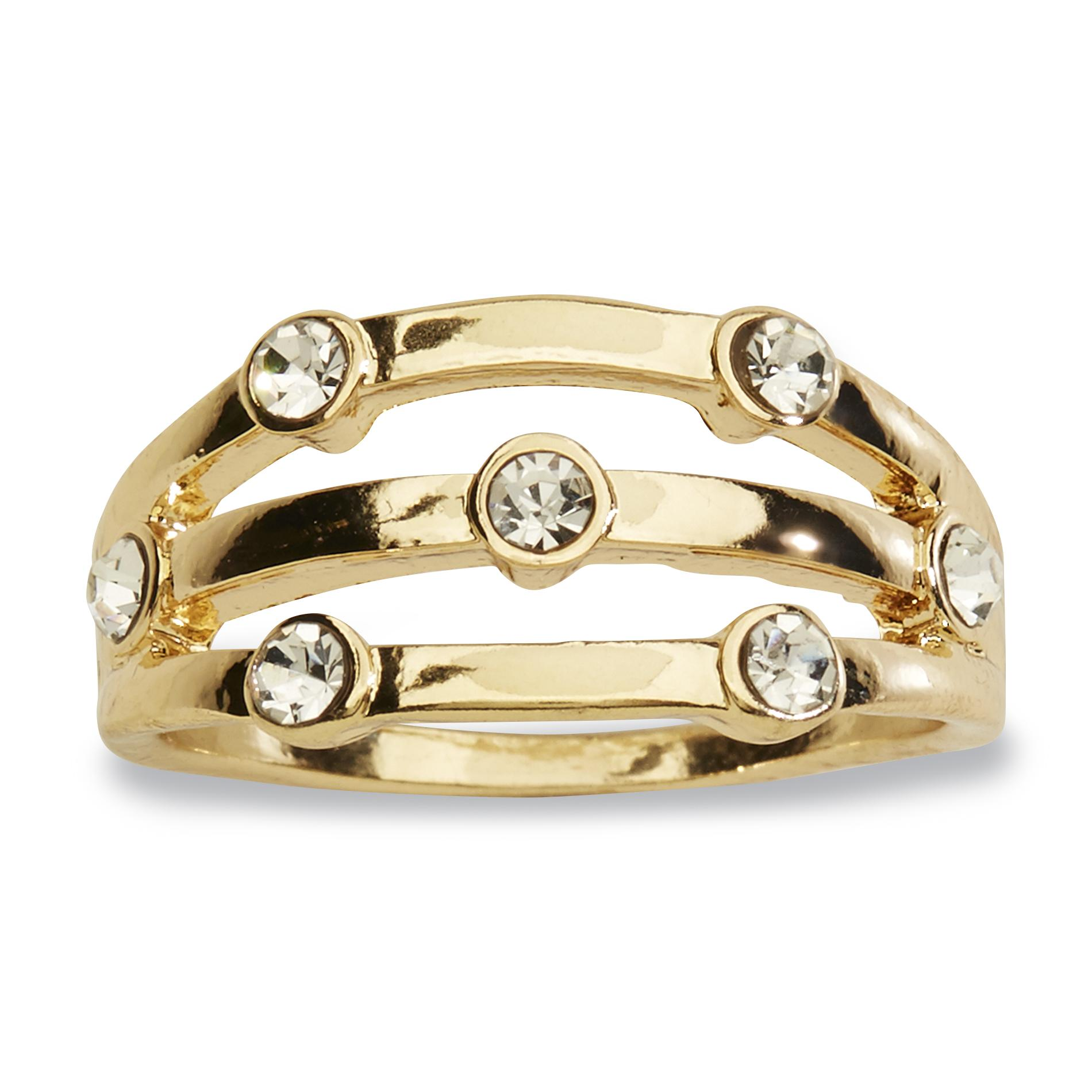 Attention Women's Goldtone Cocktail Ring