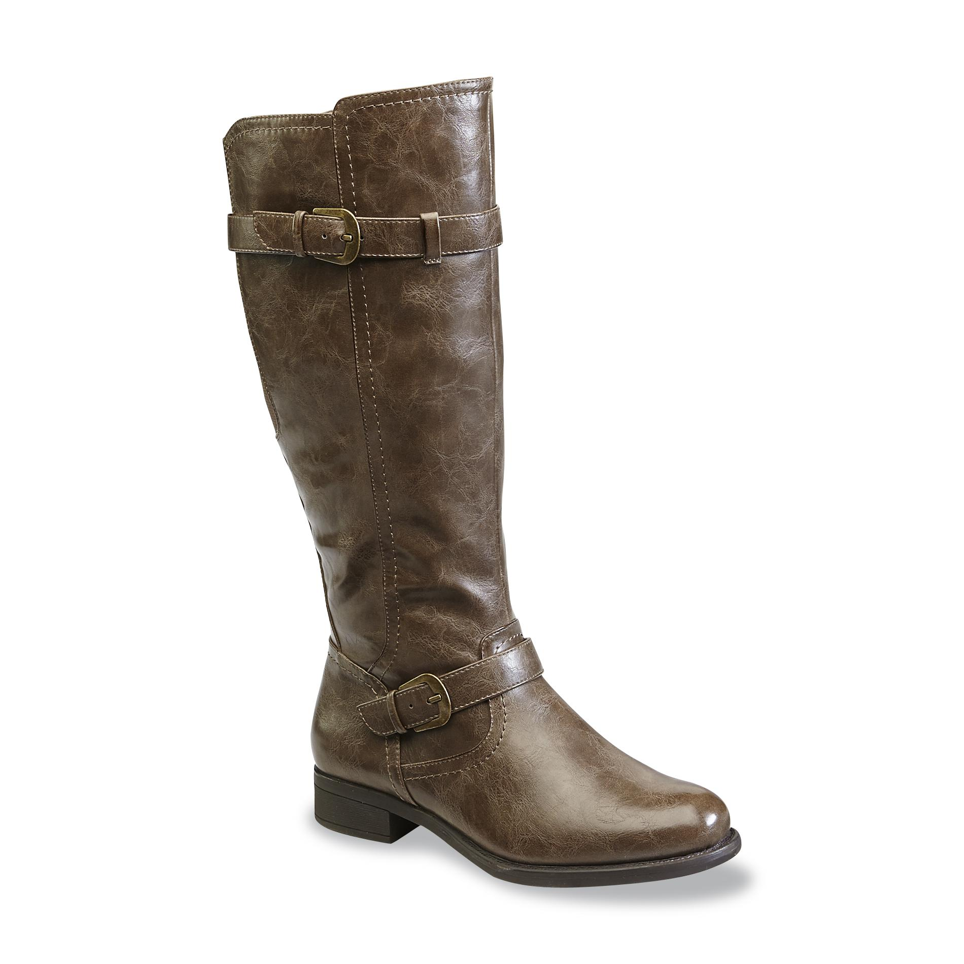 Chooka Women S Julia Brown Riding Boot Wide Width Available