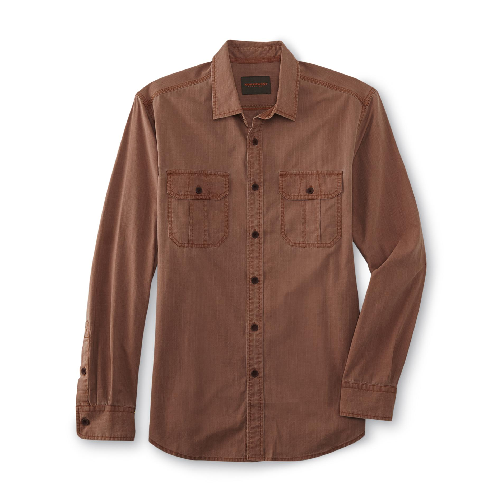 Northwest Territory Men's Casual Button-Front Shirt