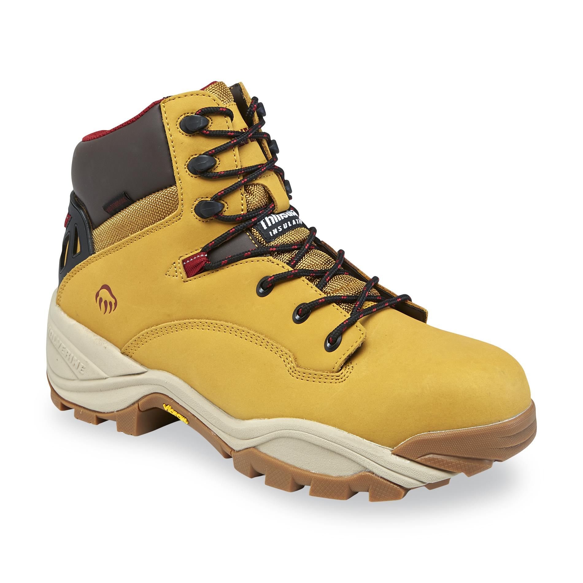 Wolverine Men's Growler LX Wheat Composite Toe Work Boot - Wide Width Available