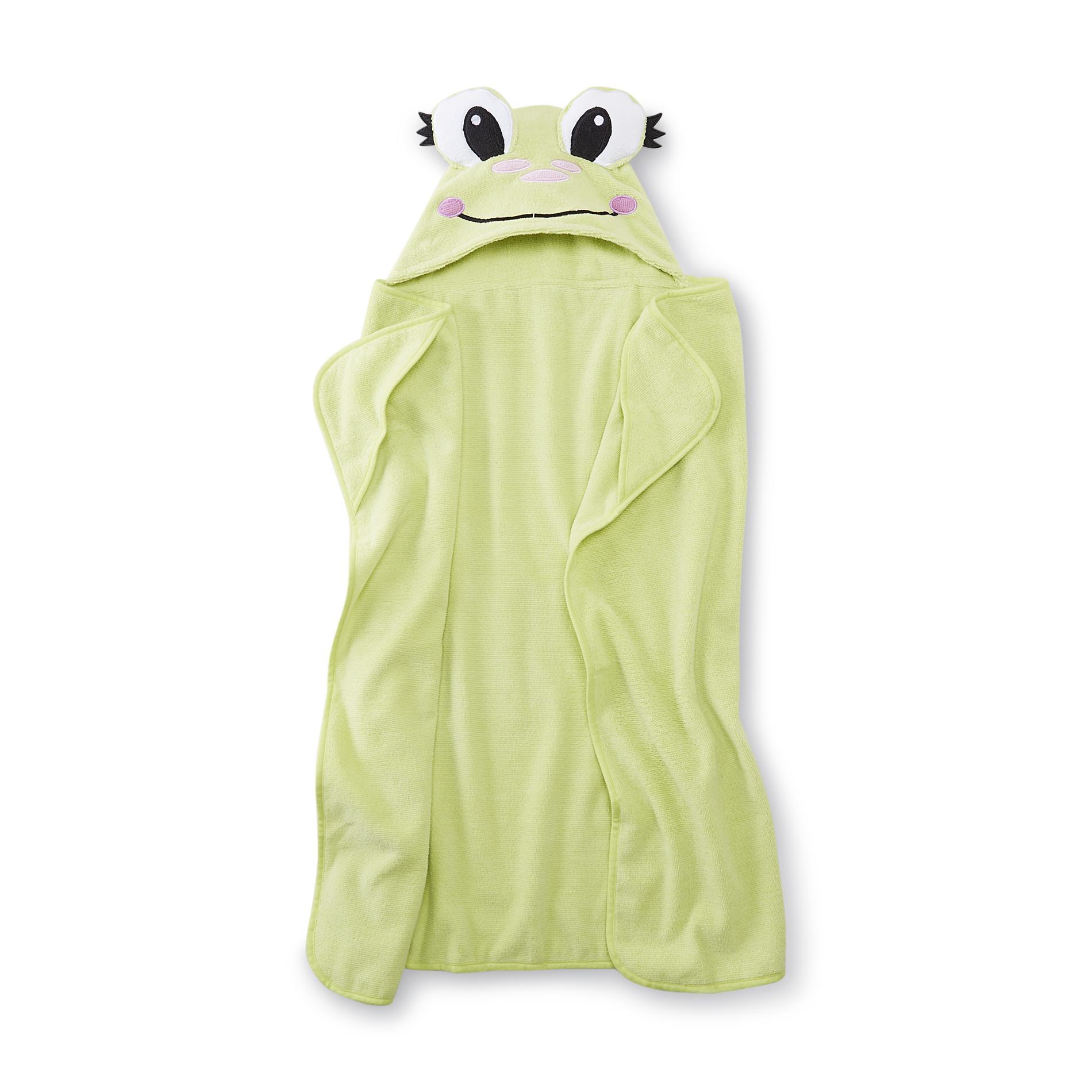 Piper Hooded Towel - Frog