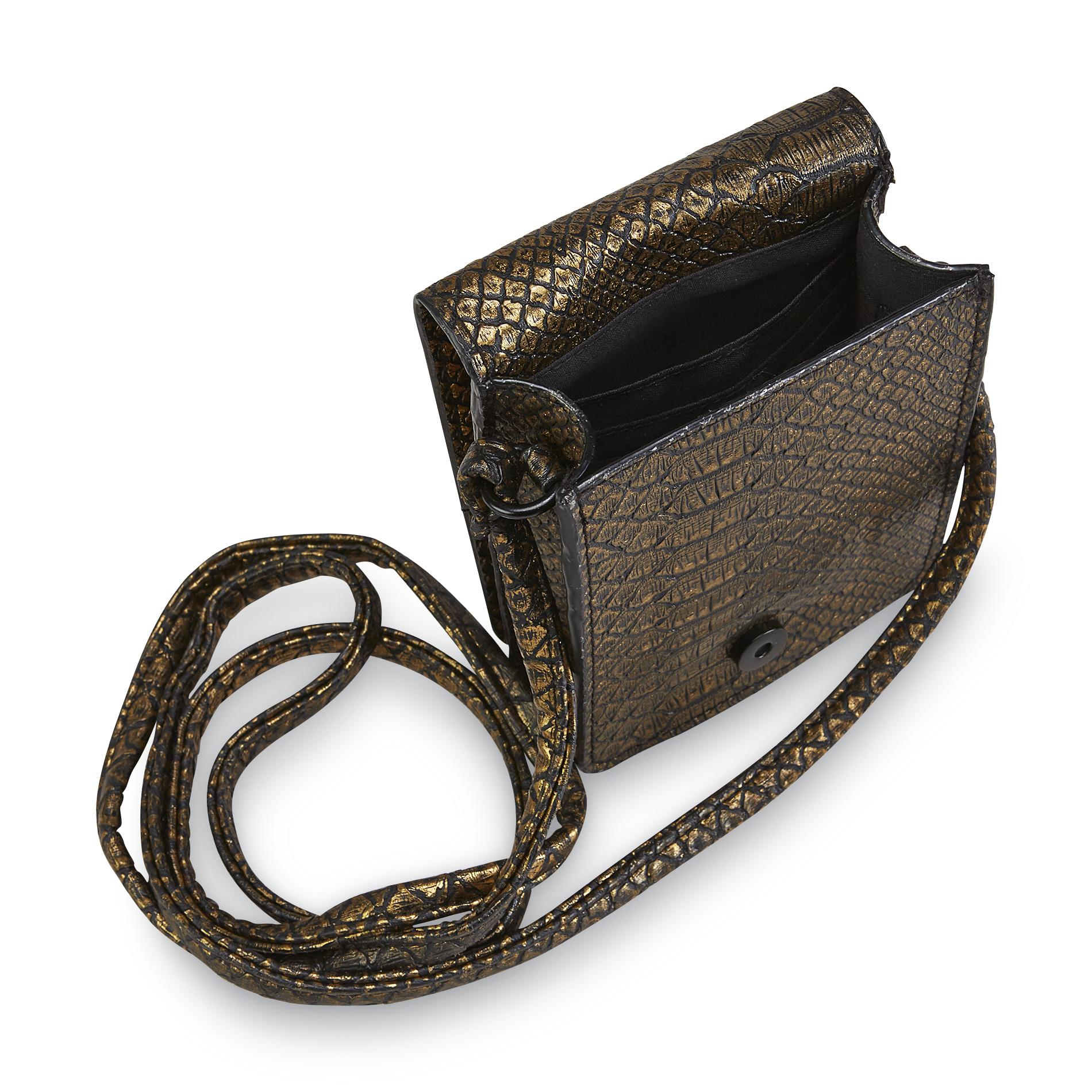 Bongo Junior's Mini Crossbody Purse - Snakeskin