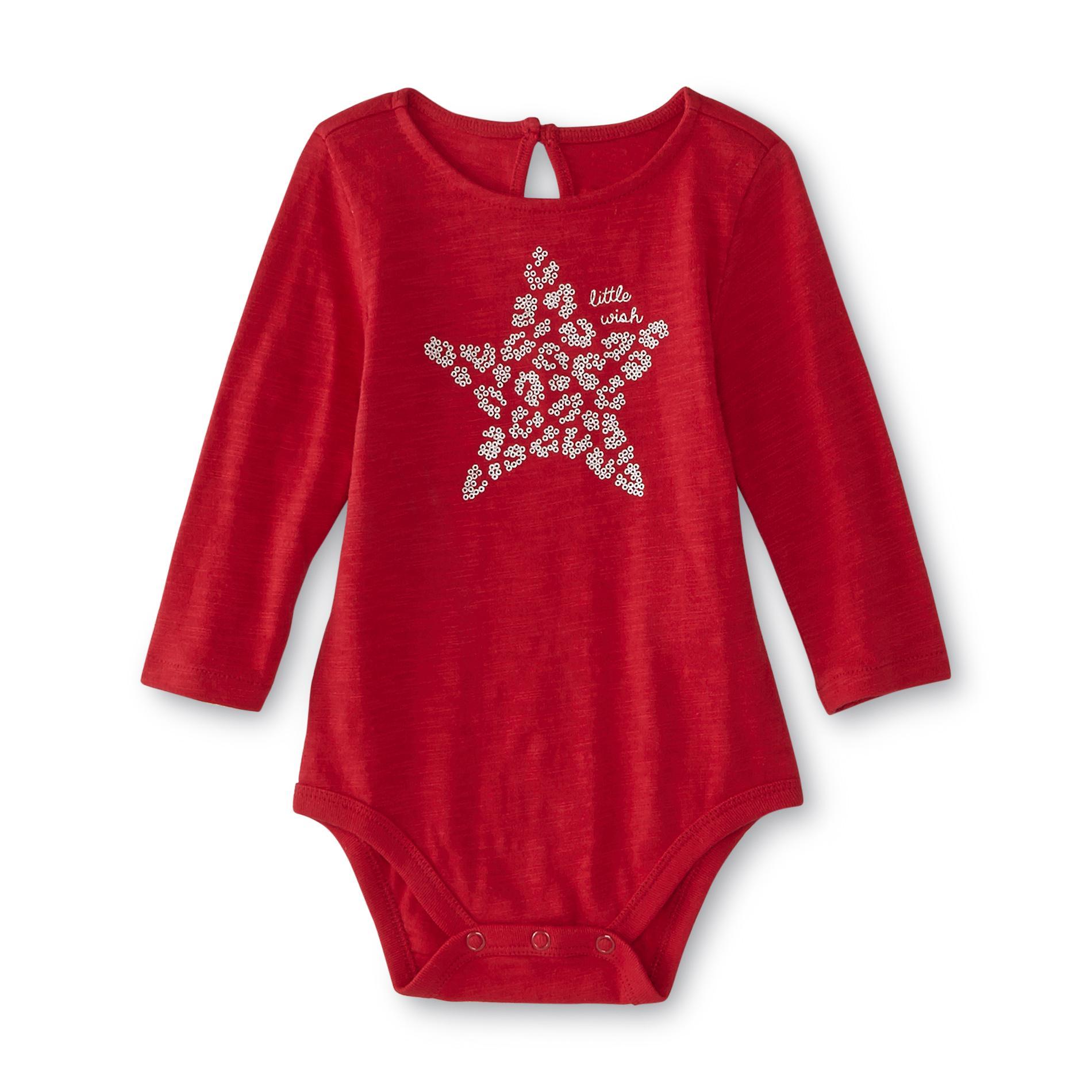 Little Wonders Newborn & Infant Girl's Bodysuit - Star