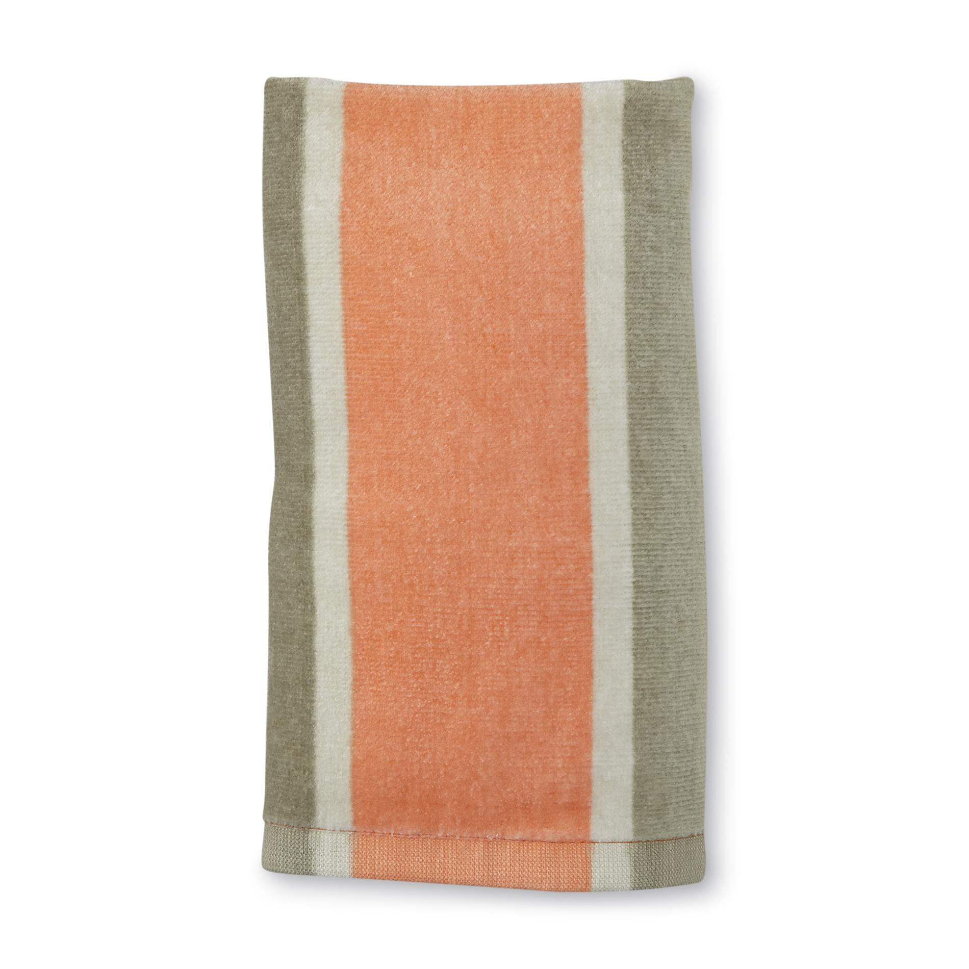 Colormate Bathroom Hand Towel - Striped