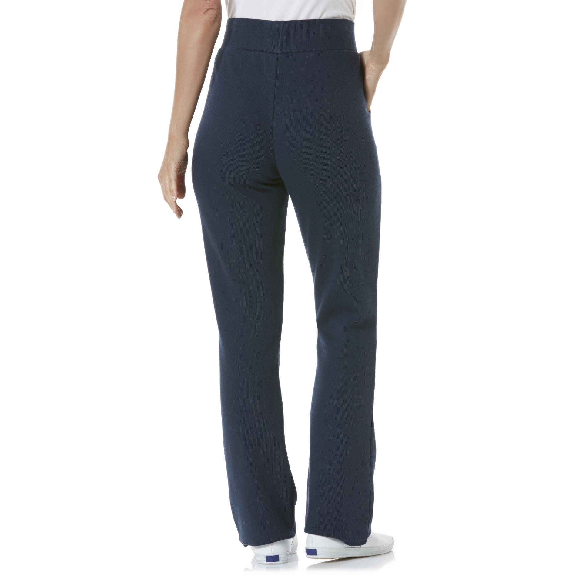 Laura Scott Women's Rib Knit Pants