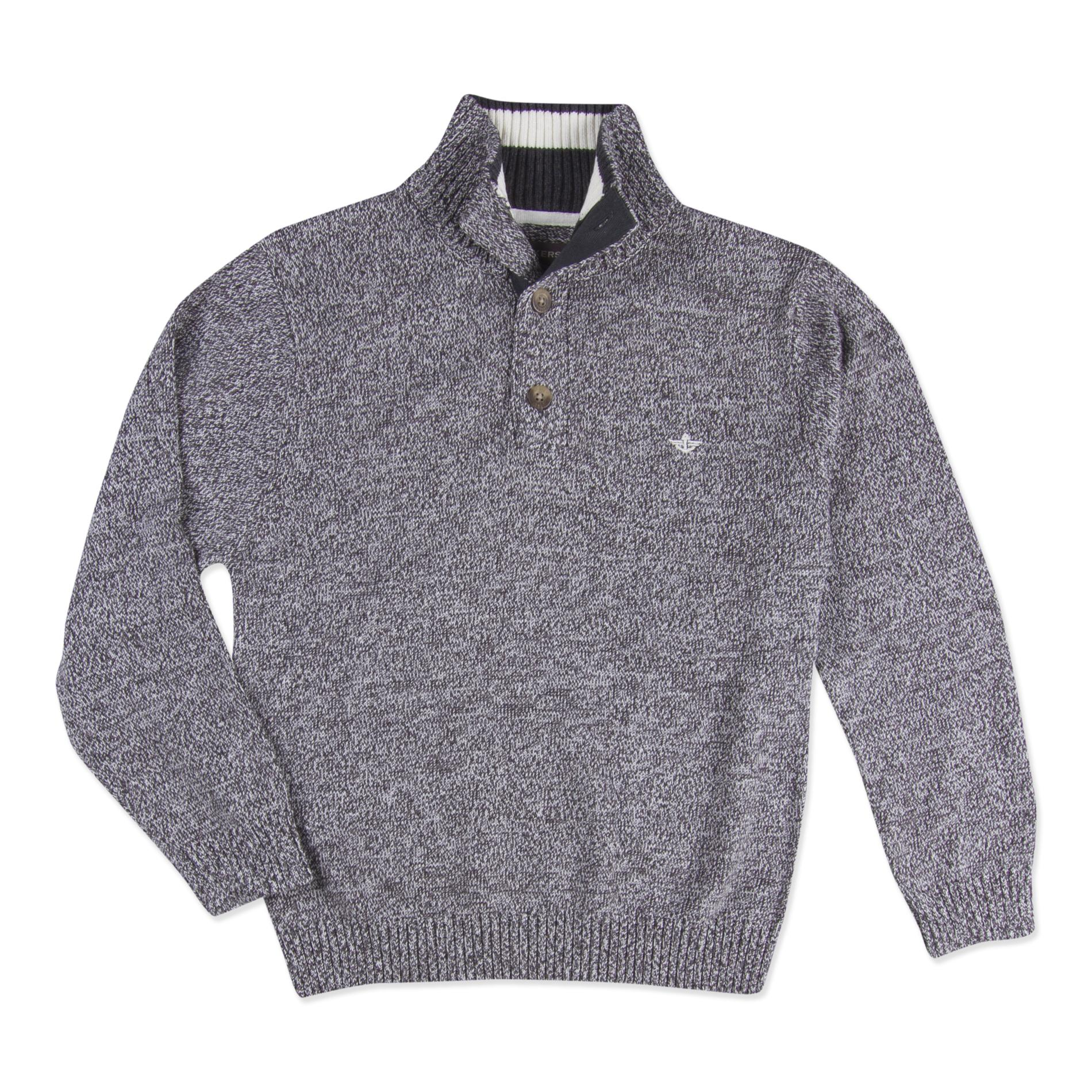 Dockers Boy's Button-Neck Sweater PartNumber: 040VA84487512P MfgPartNumber: D811000