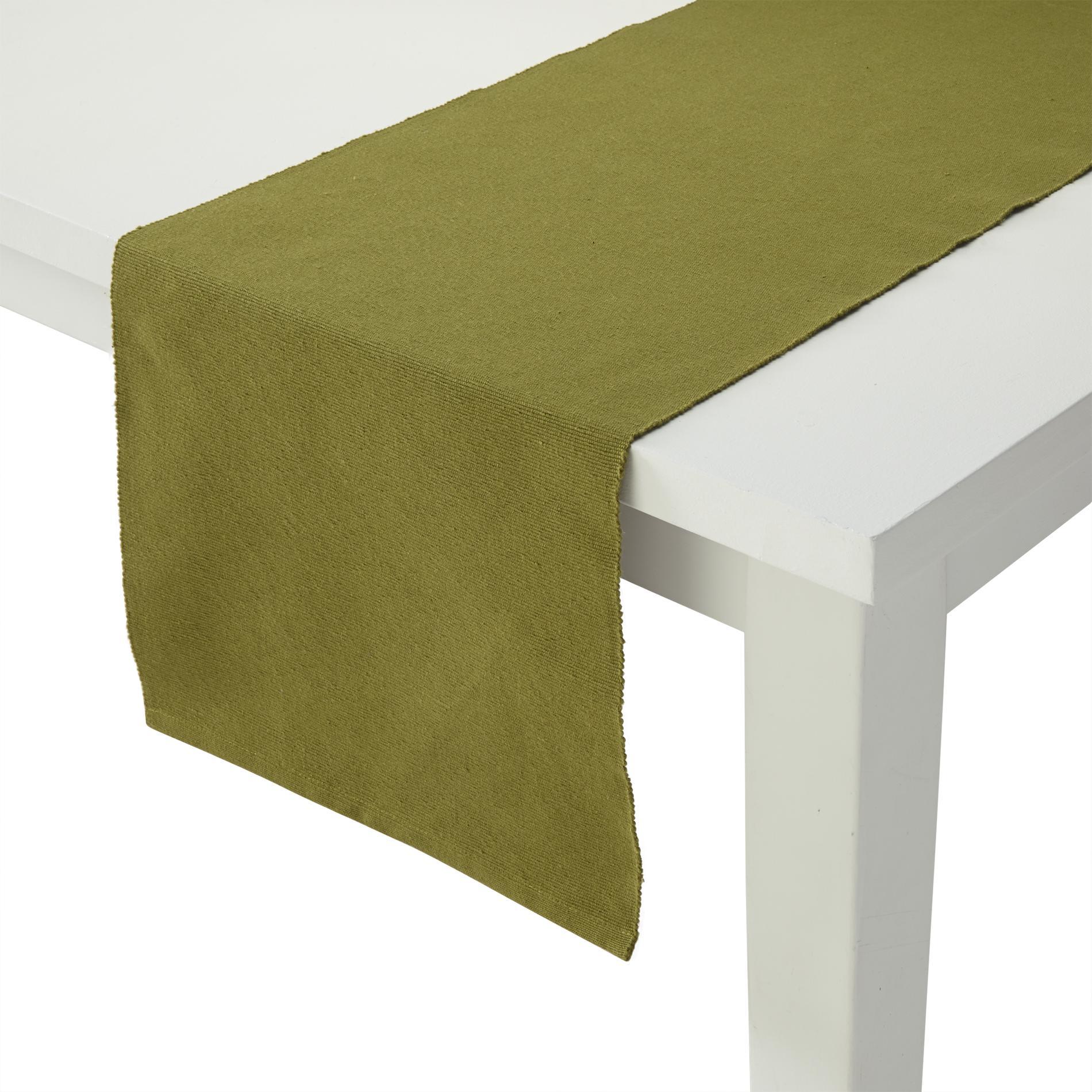 Homewear Solid Rib Table Runner - Bradford PartNumber: 048W001196939001P KsnValue: 048W001196939001 MfgPartNumber: 80777-434