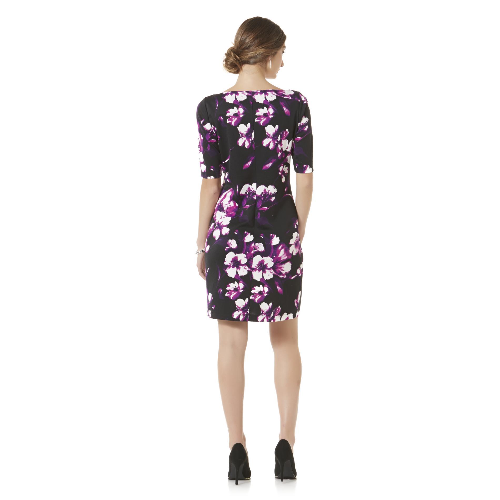 Metaphor Women's Sheath Dress - Floral