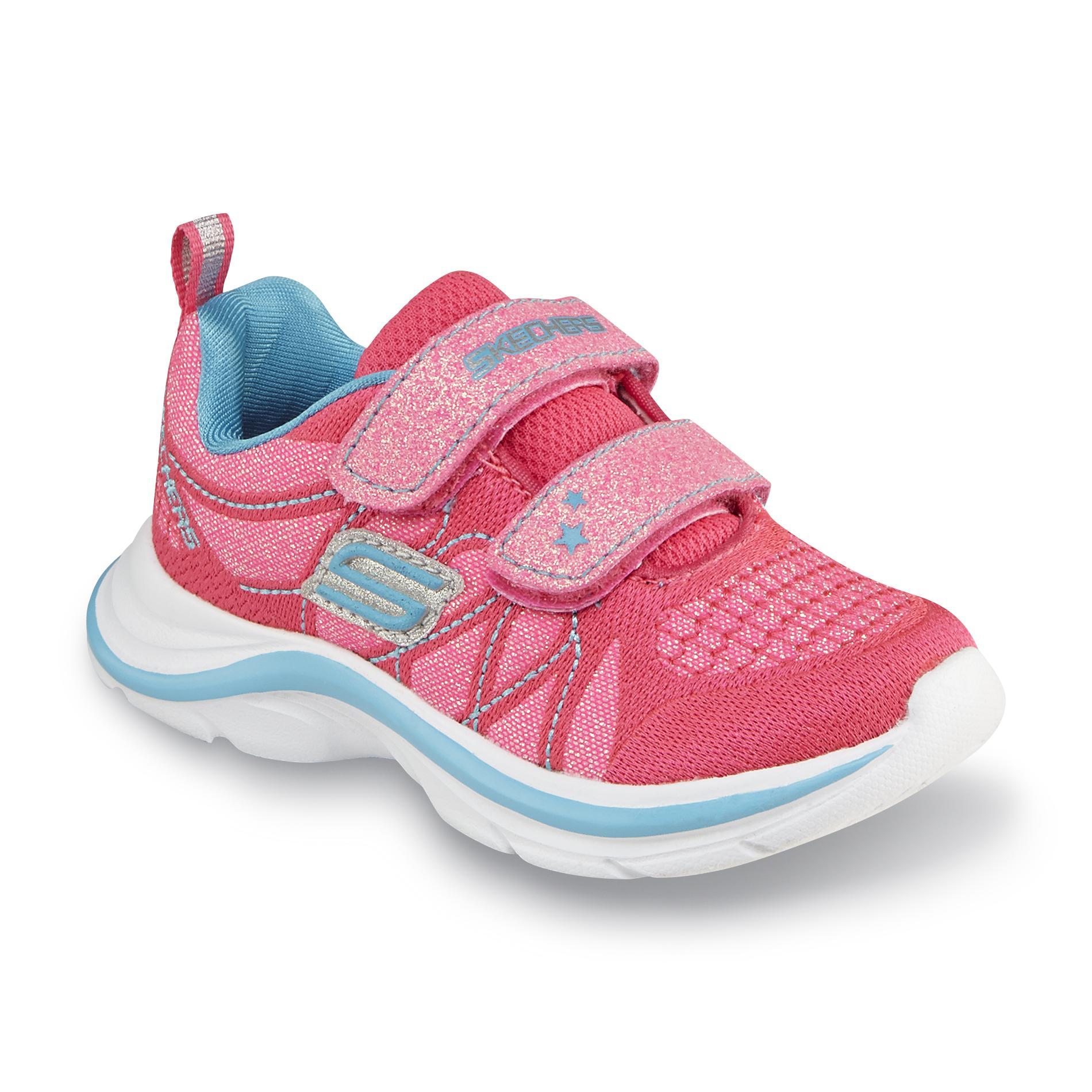 Skechers Toddler Girl s Swift Kicks Lil Glammer Neon Pink
