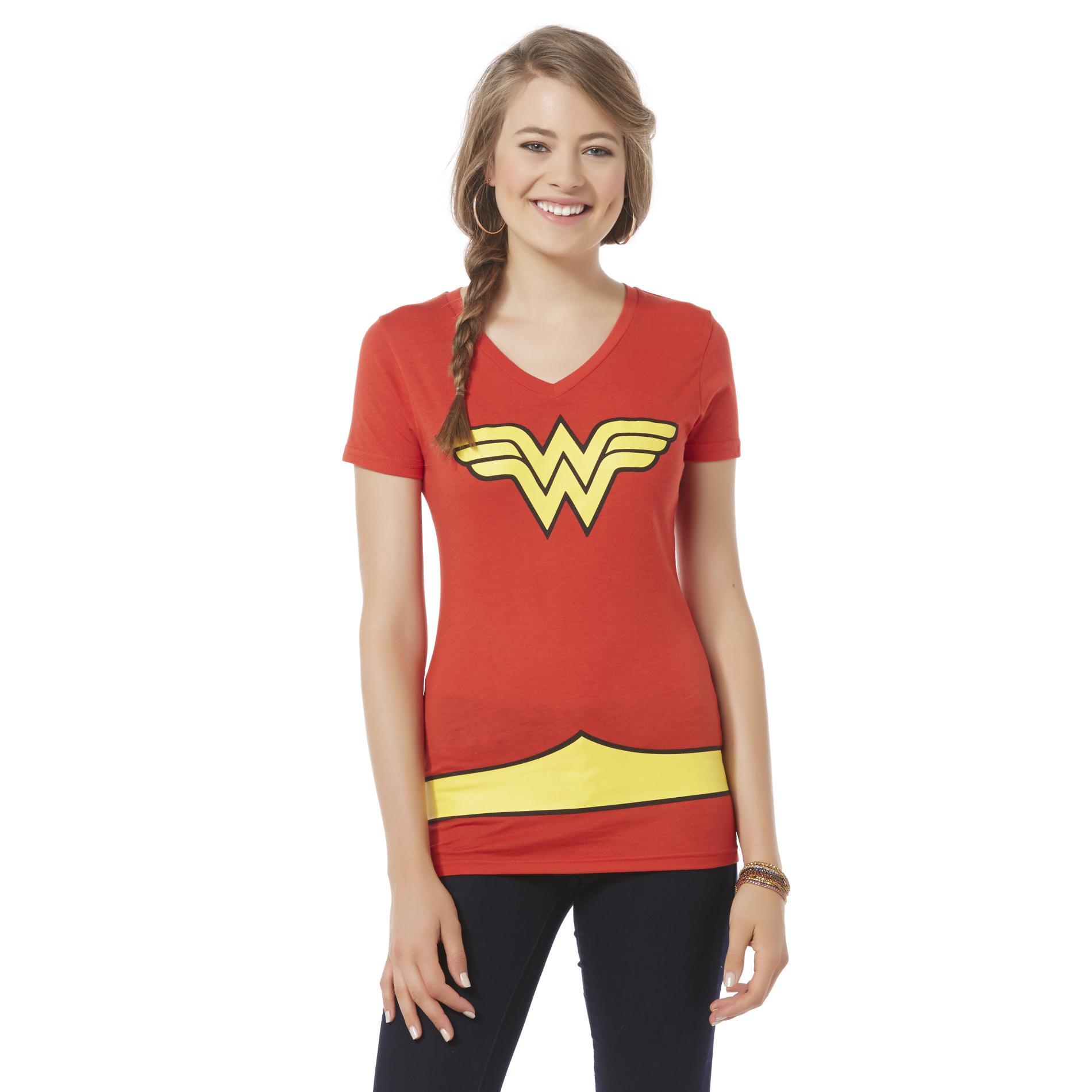 DC Comics Wonder Woman Women's Costume T-Shirt PartNumber: 027VA84854412P MfgPartNumber: VN3C5HDCO