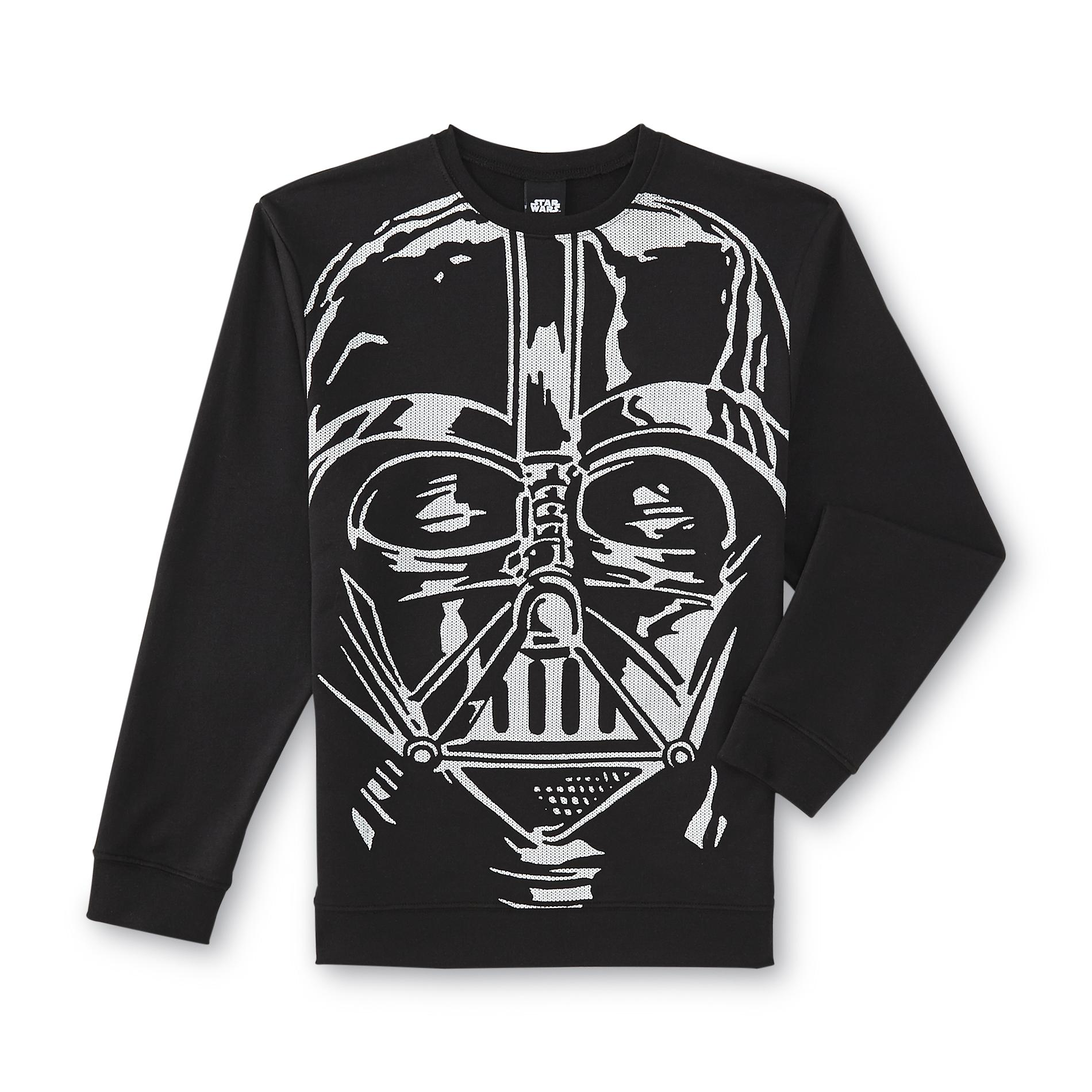 Young Men's French Terry Knit Sweatshirt - Darth Vader