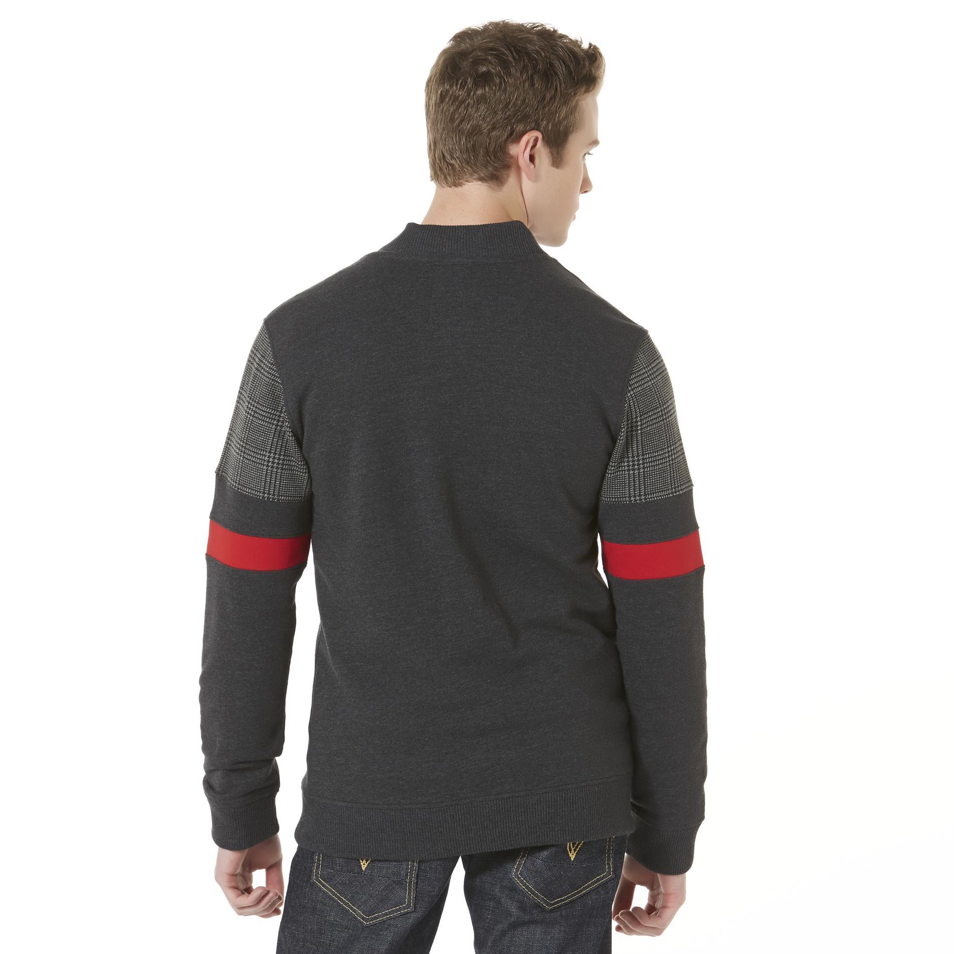 Route 66 Men's Knit Bomber Jacket