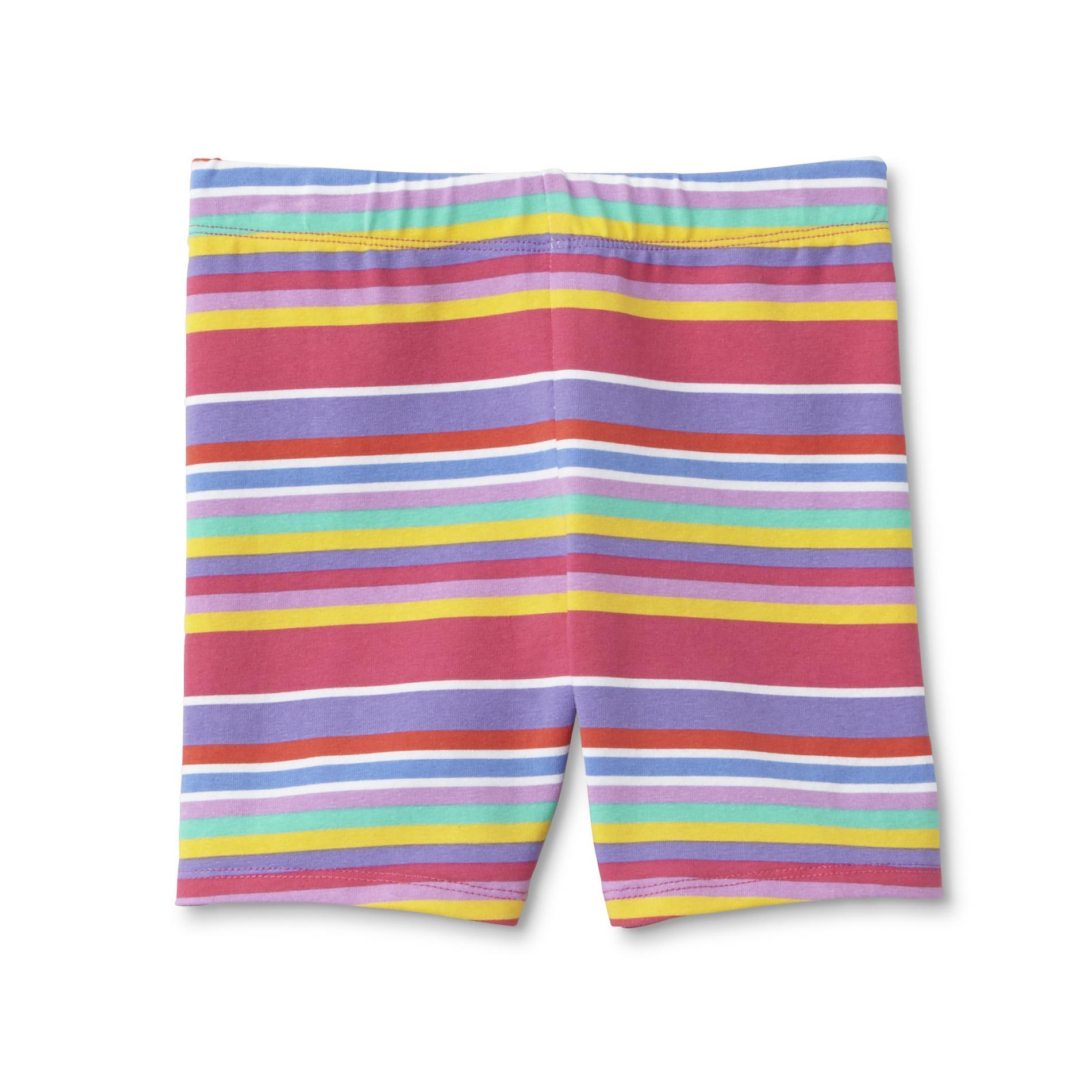 WonderKids Toddler and Infant Girls' Bike Shorts - Striped PartNumber: 024VA97227512P MfgPartNumber: GF7WK20011IT