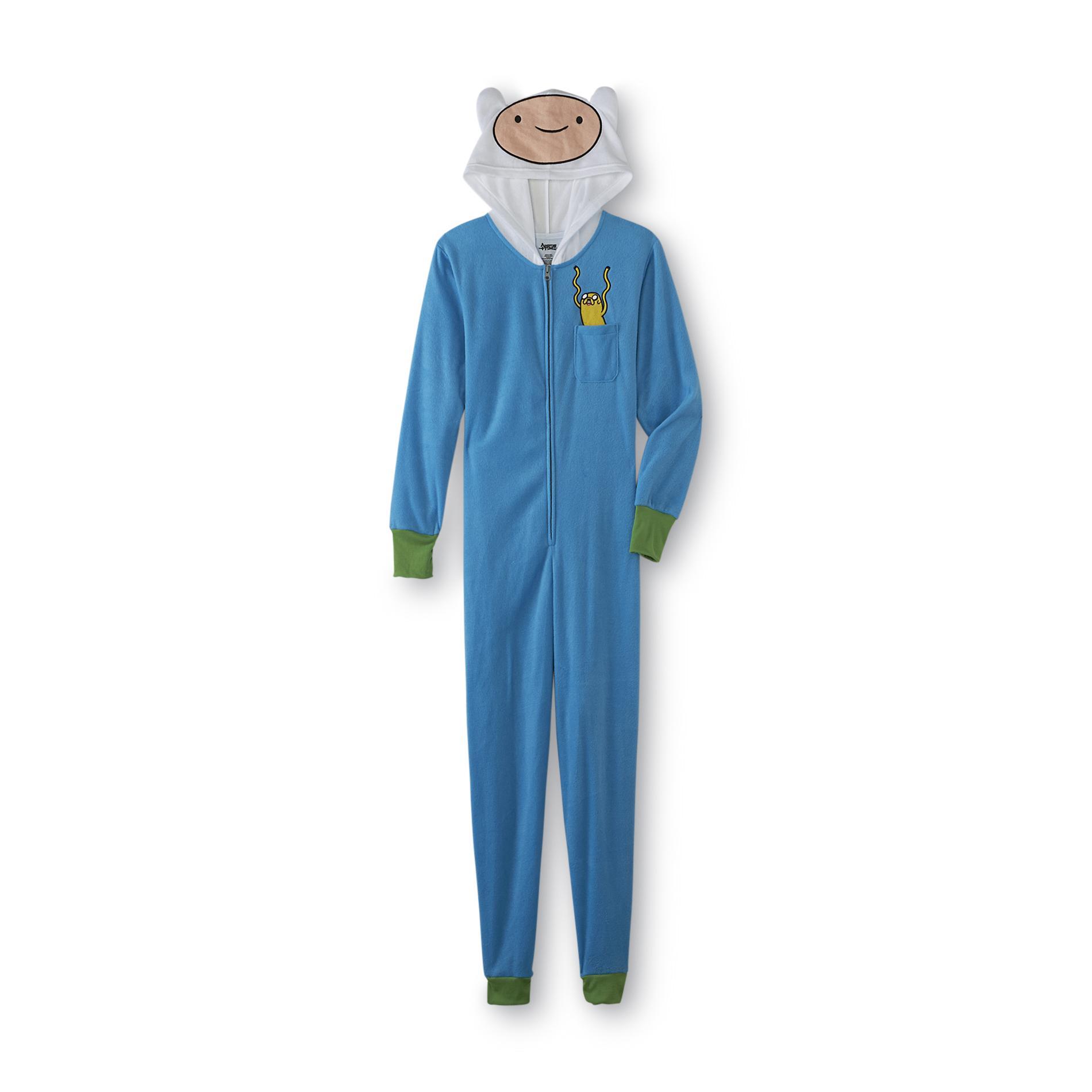 Cartoon Network Adventure Time Women's One-Piece Pajamas