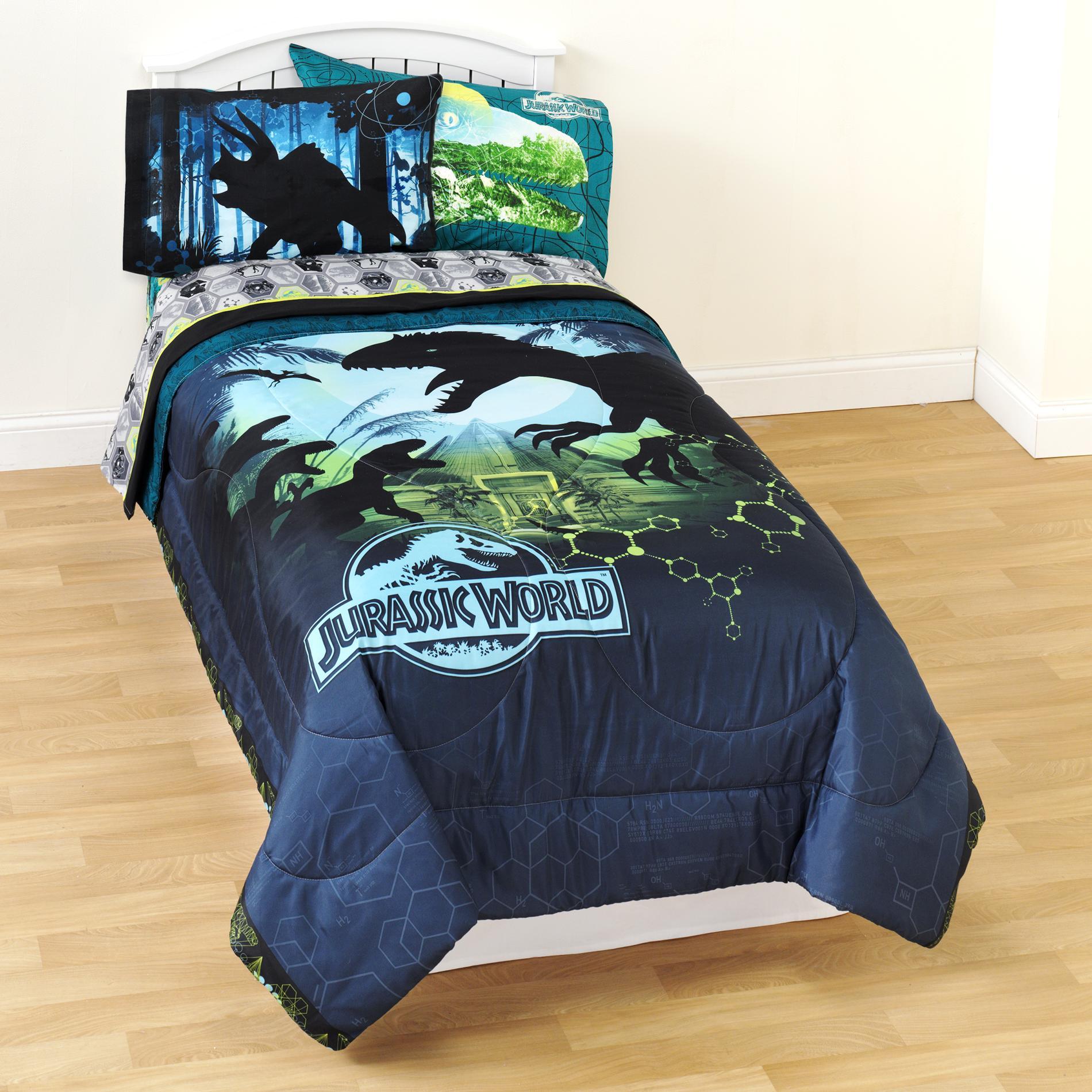 Universal Studios Jurassic World Twin Microfiber Comforter