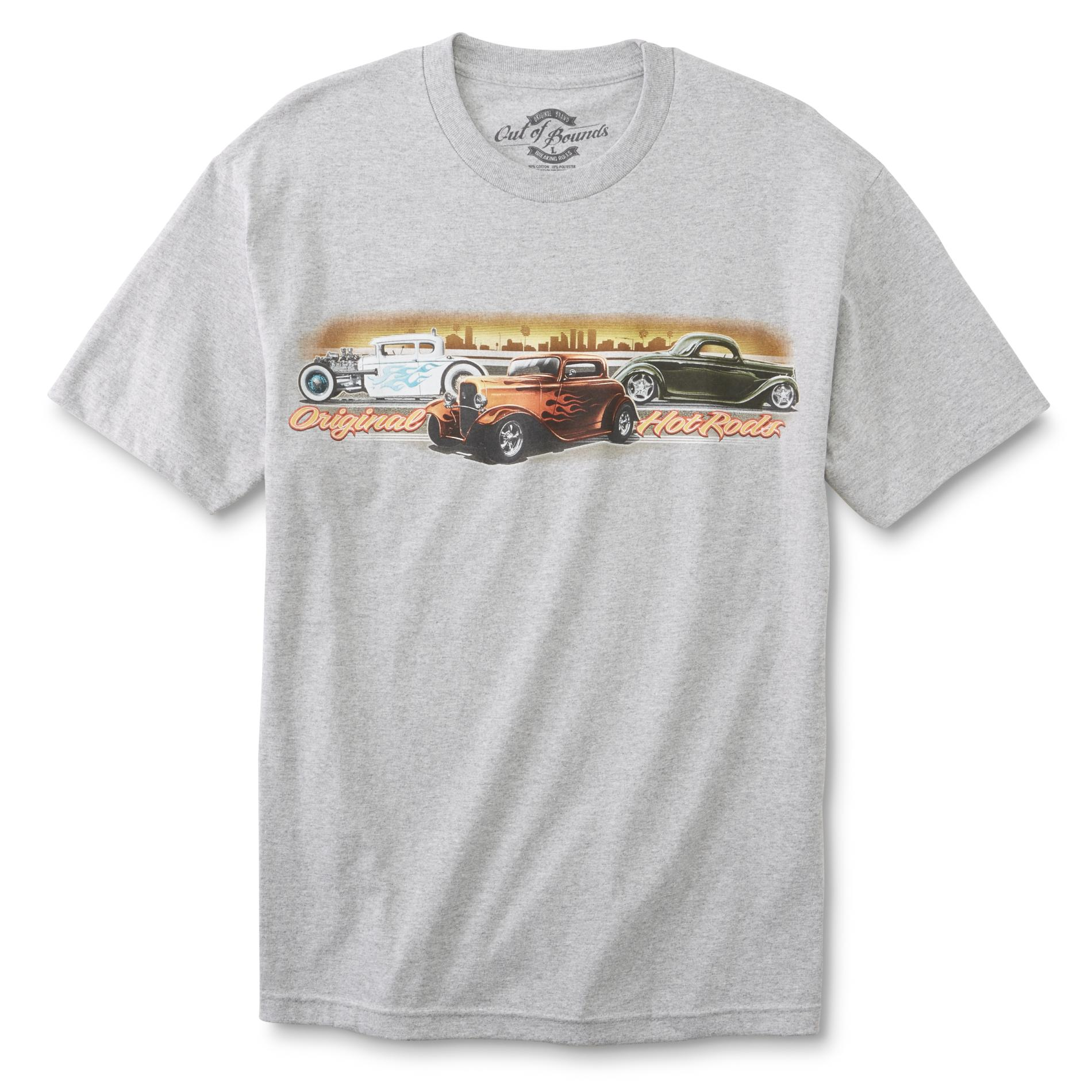 Men's Graphic T-Shirt - Hot Rods PartNumber: 041VA98421112P MfgPartNumber: OBZT213-0062-XXL