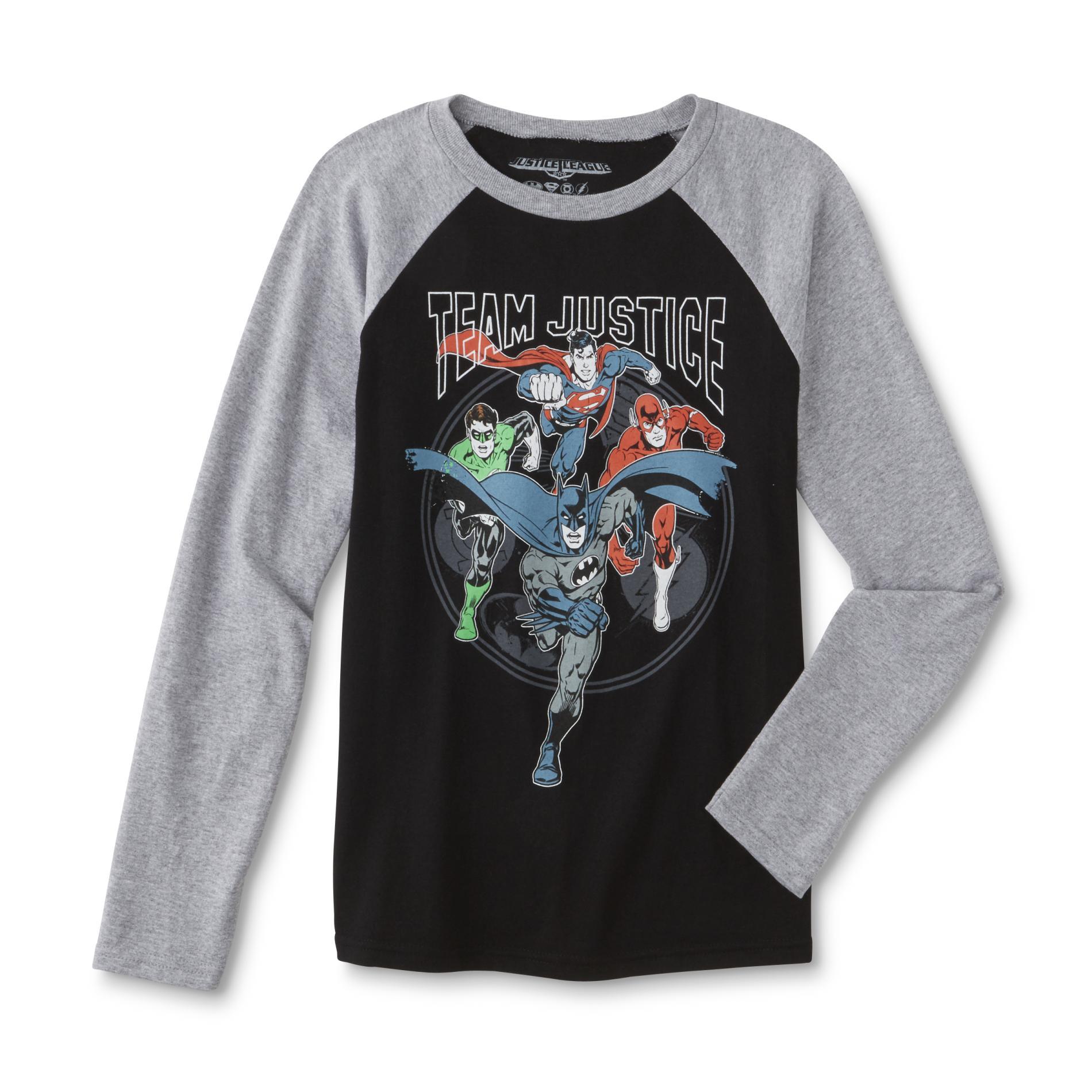 Justice League Boys' Graphic T-Shirt PartNumber: 040VA98679612P MfgPartNumber: RG556KJLA