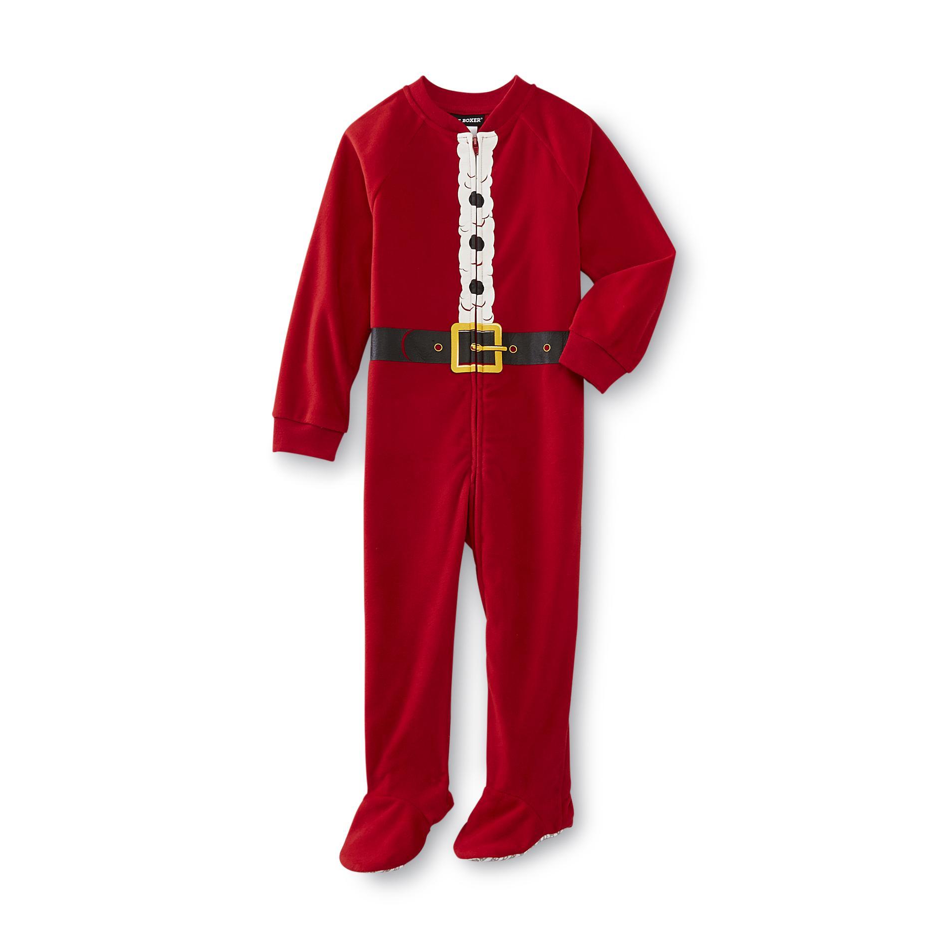 Joe Boxer Infant & Toddler Boy\'s Christmas Fleece Sleeper Pajamas ...