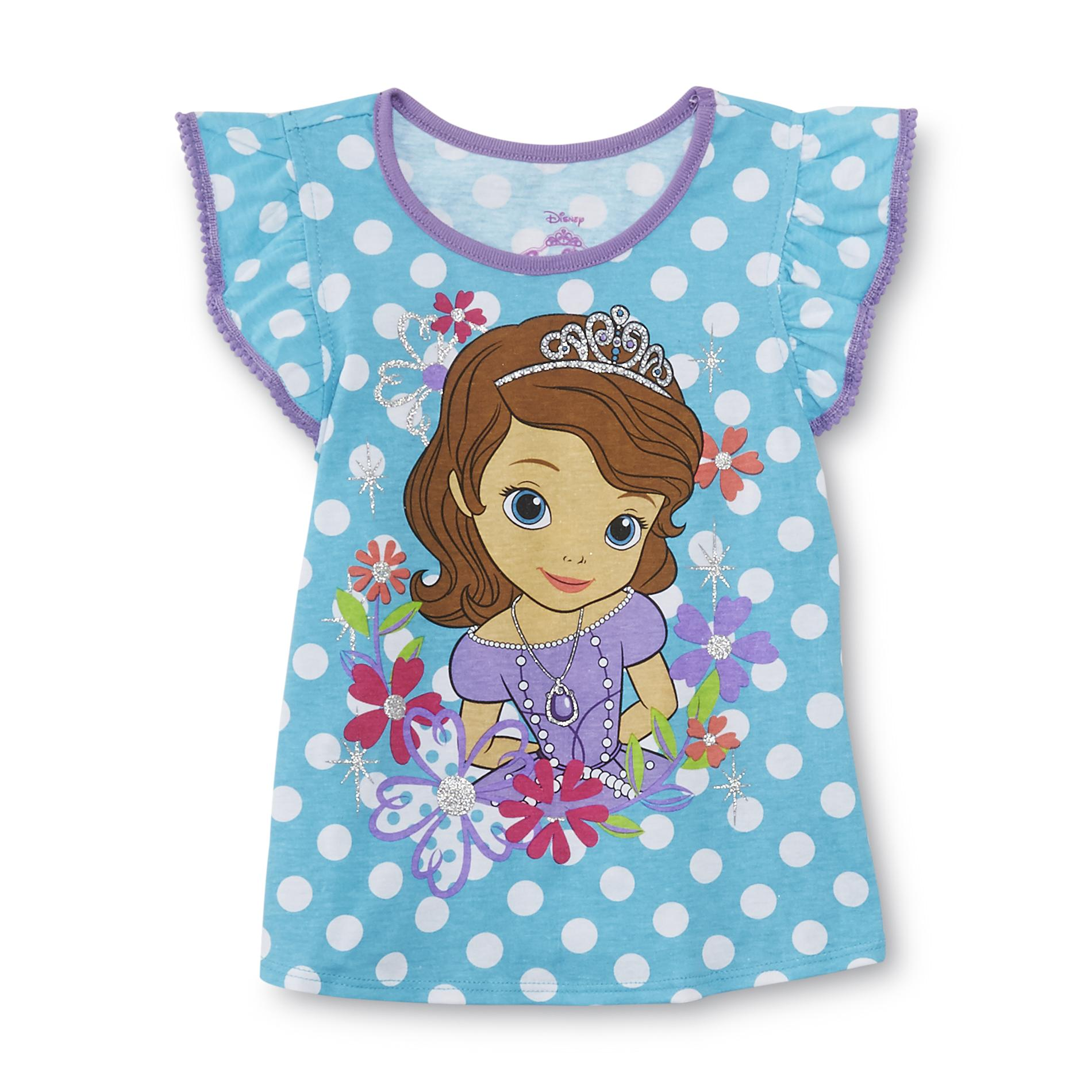 Disney Baby Sofia The First Toddler Girl's Graphic Top