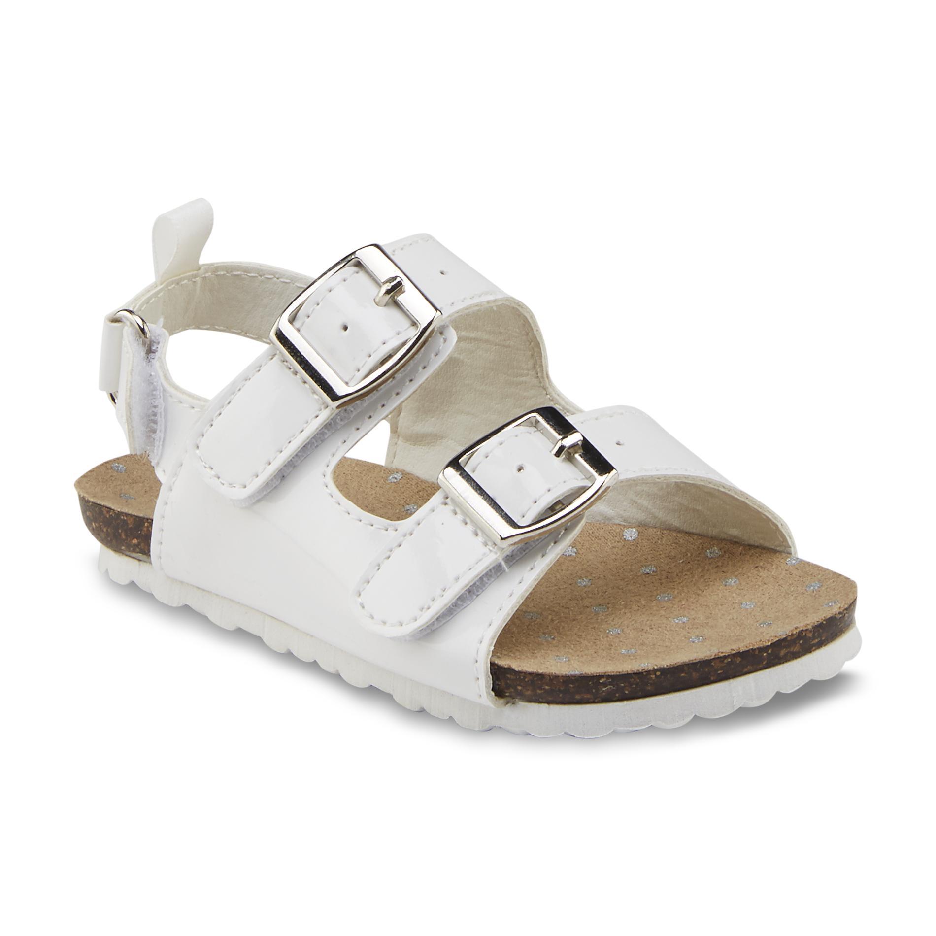 oshkosh toddler s teegan white sandal shoes baby