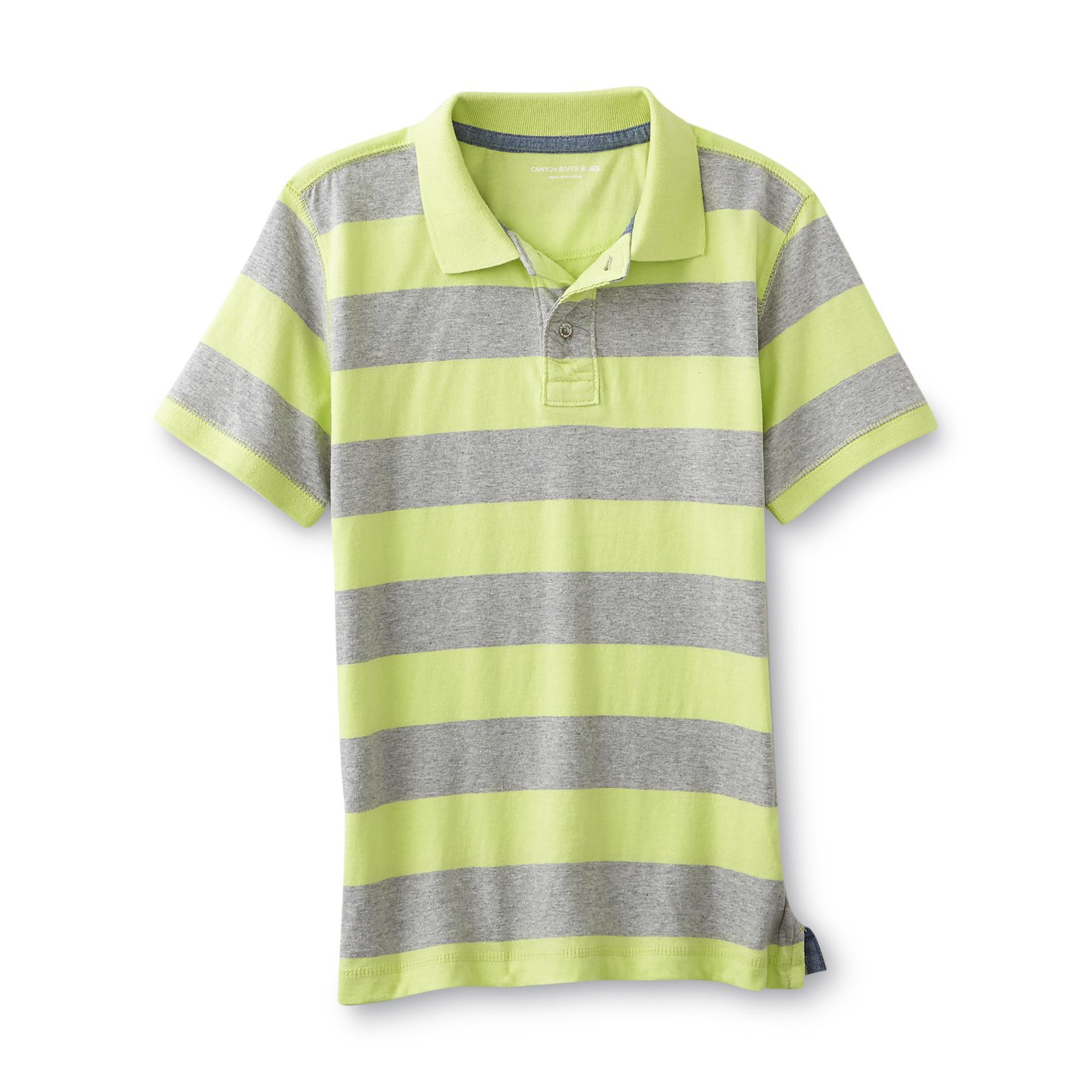 Boy's Polo Shirt - Striped