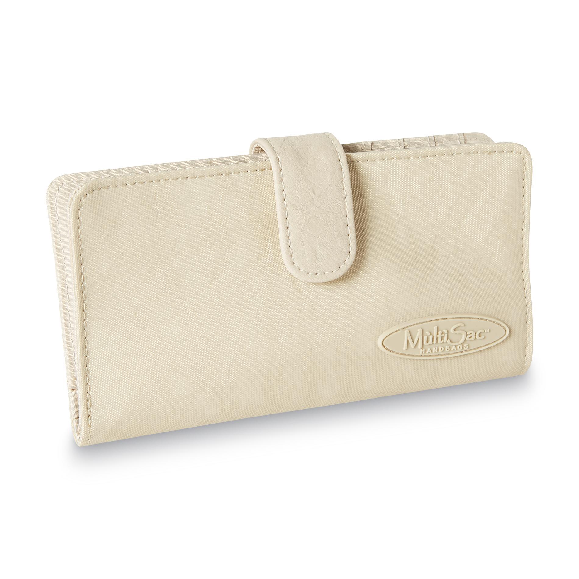 MultiSac Women's Nylon Checkbook Cover PartNumber: 08884820099P KsnValue: 8418424 MfgPartNumber: W211CRS