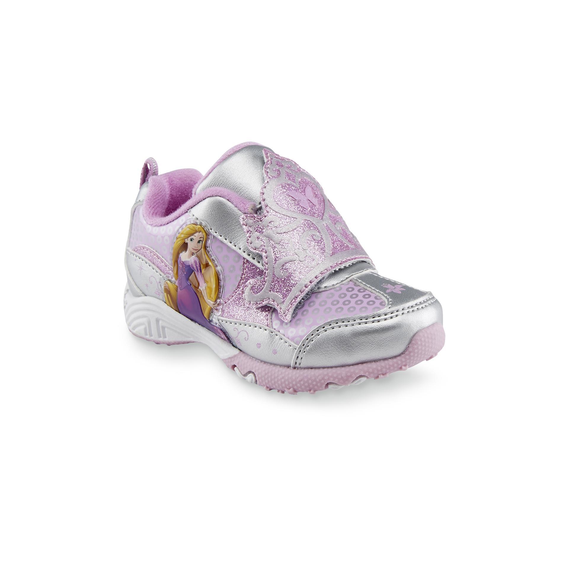 Disney Toddler Girl's Rapunzel Silver/Pink Athletic Shoe