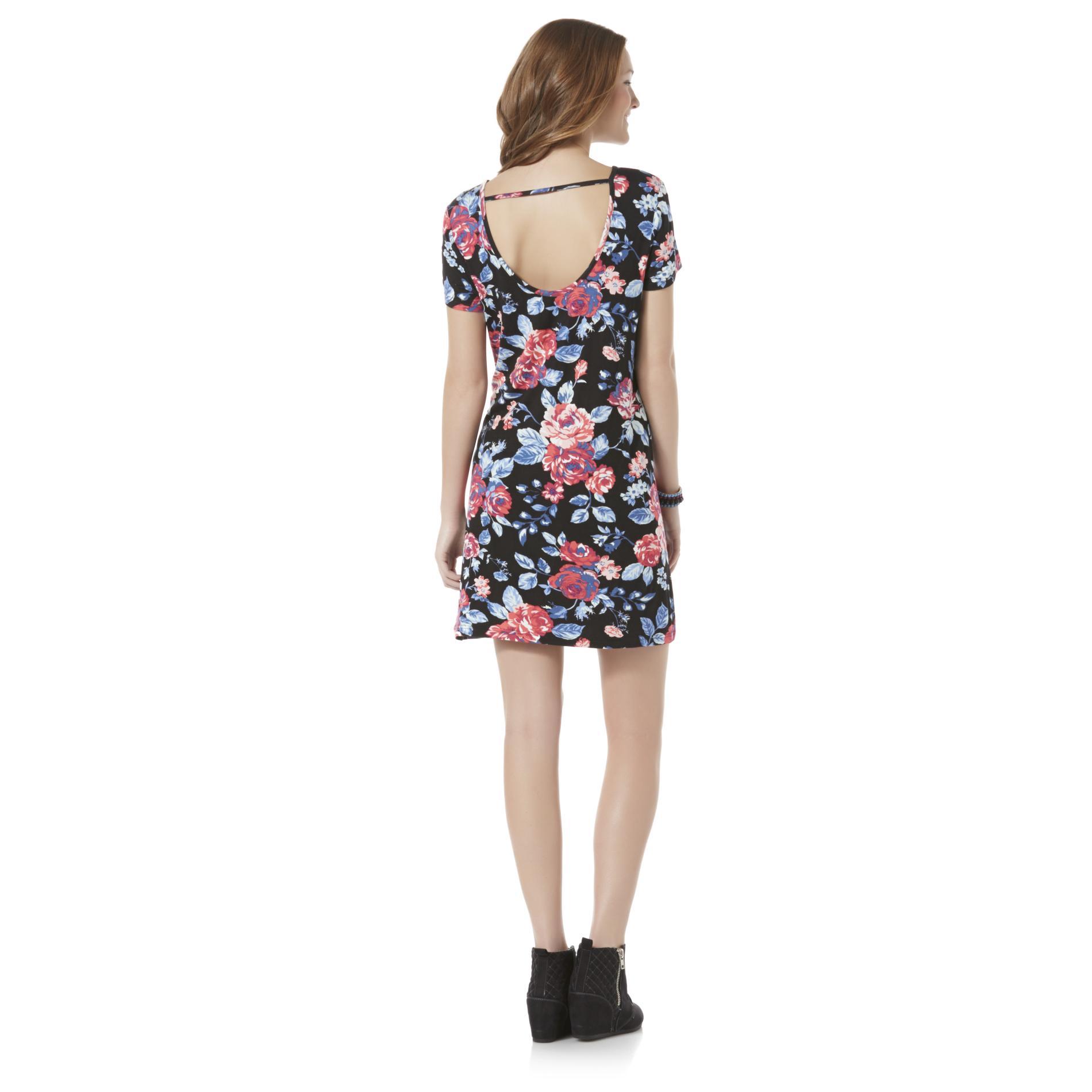 Joe Boxer Junior's T-Shirt Dress - Floral