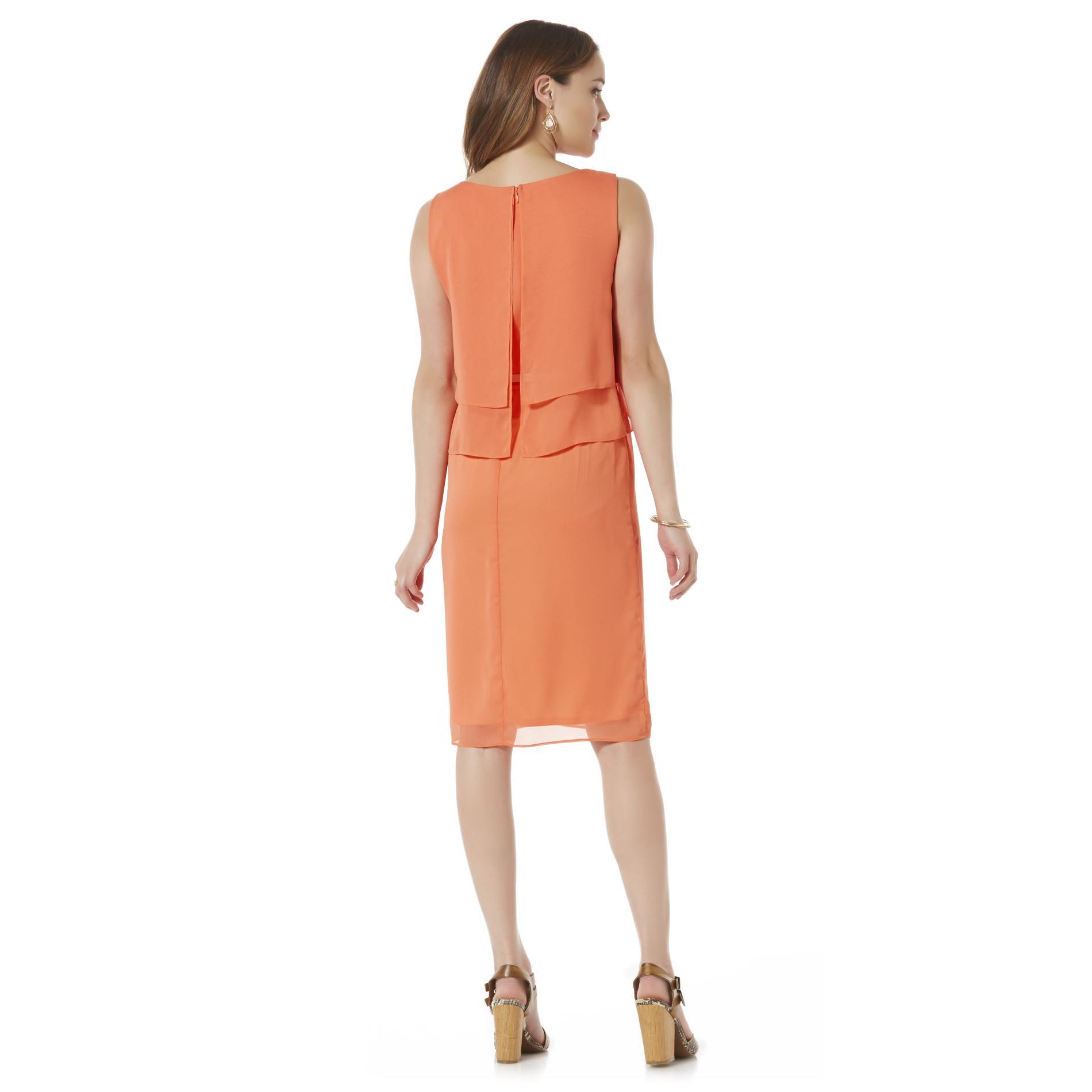 Covington Women's Sleeveless Belted Dress
