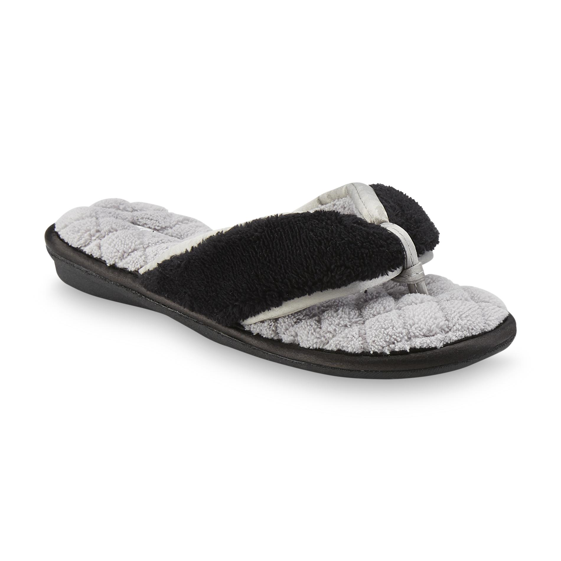 087578e62 Pink K Women s Clarissa Flip-Flop Slipper - Black Gray