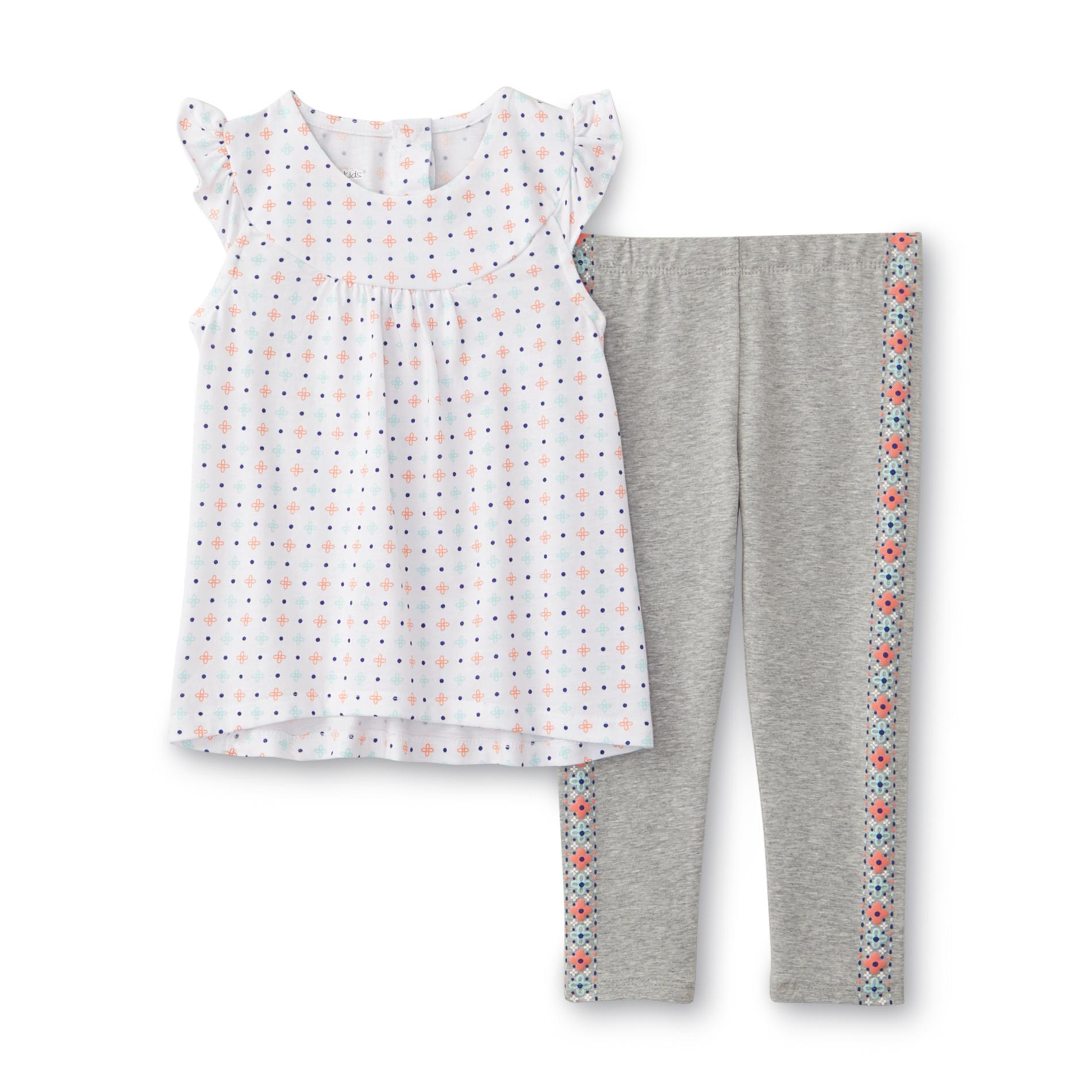 Infant & Toddler Girl's Tunic & Leggings - Floral