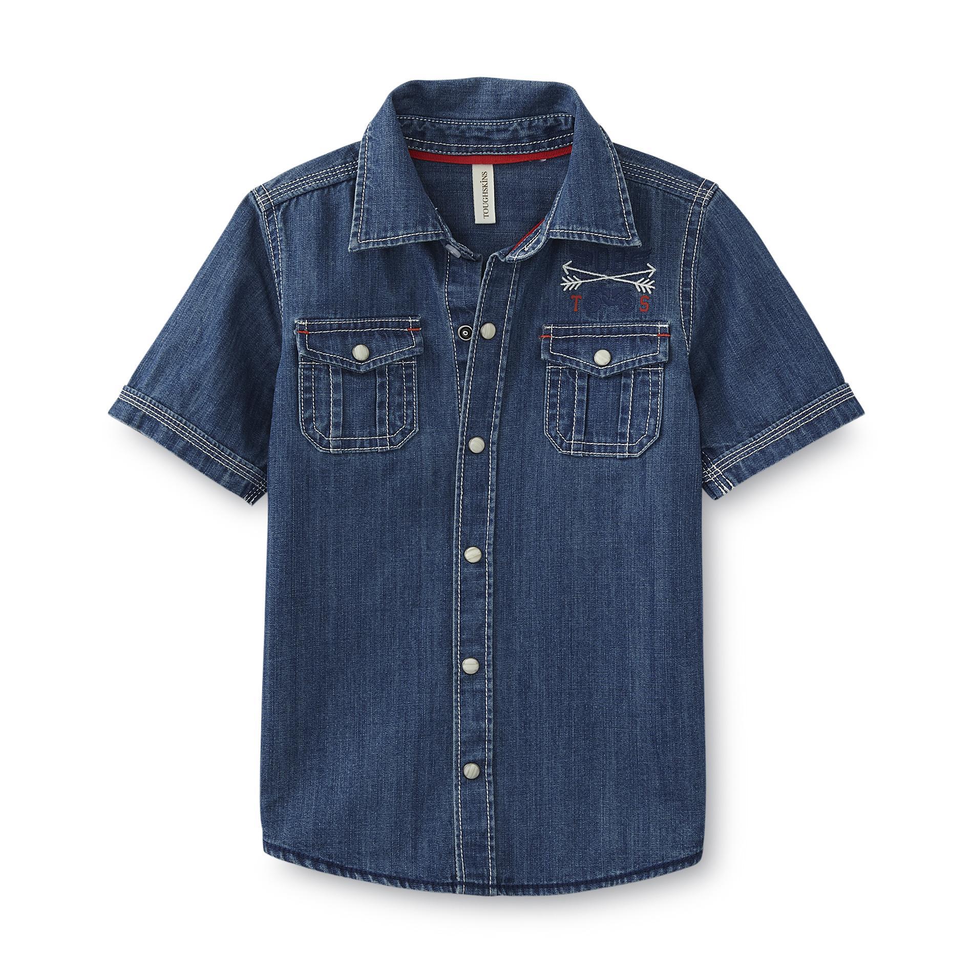 Infant & Toddler Boy's Denim Shirt