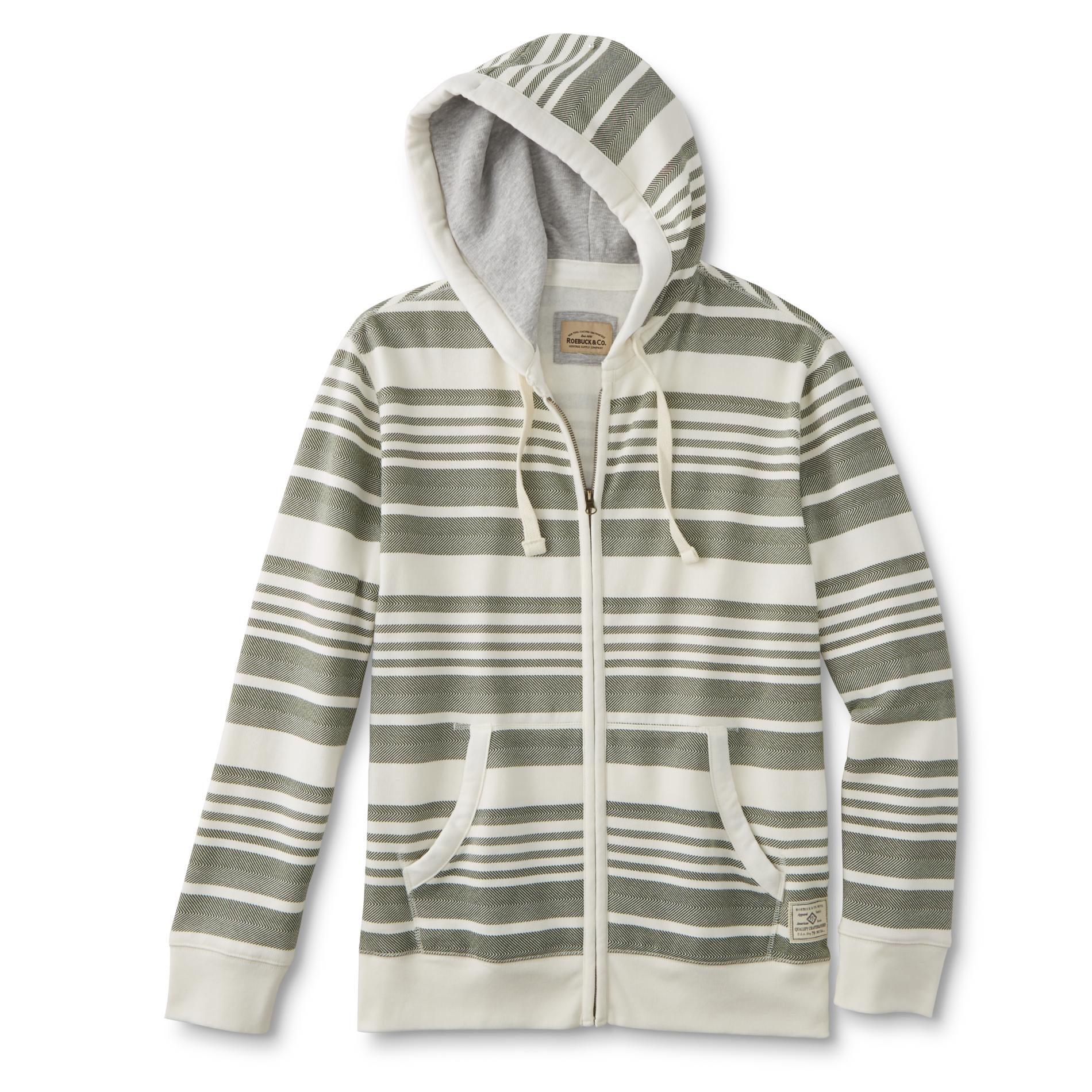 Roebuck & Co. Young Men's Hoodie Jacket - Striped PartNumber: 043VA99184812P MfgPartNumber: MF7RC17402YM