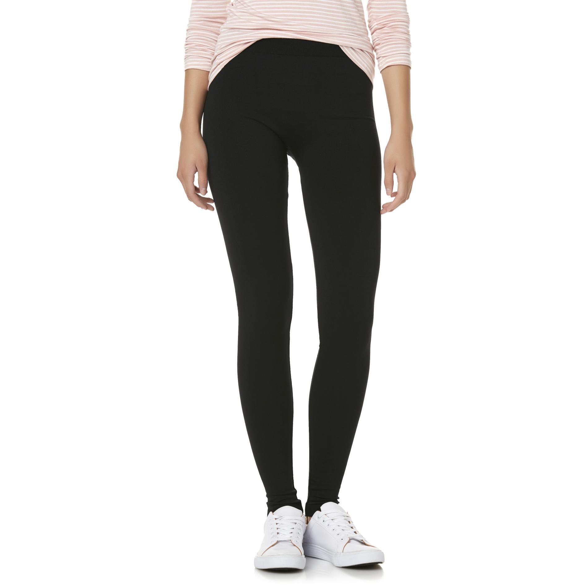 Bongo Juniors' Fleece-Lined Leggings PartNumber: 002VA99366112P MfgPartNumber: WH7BO58531JR