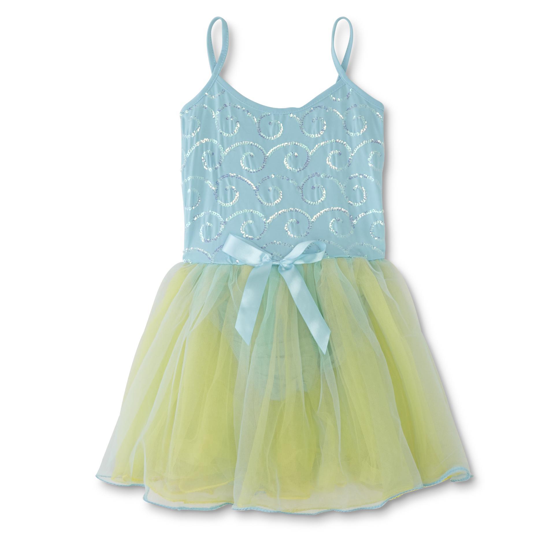 Girls' Dress-Up Princess Sequin Dress, Size: Large im test