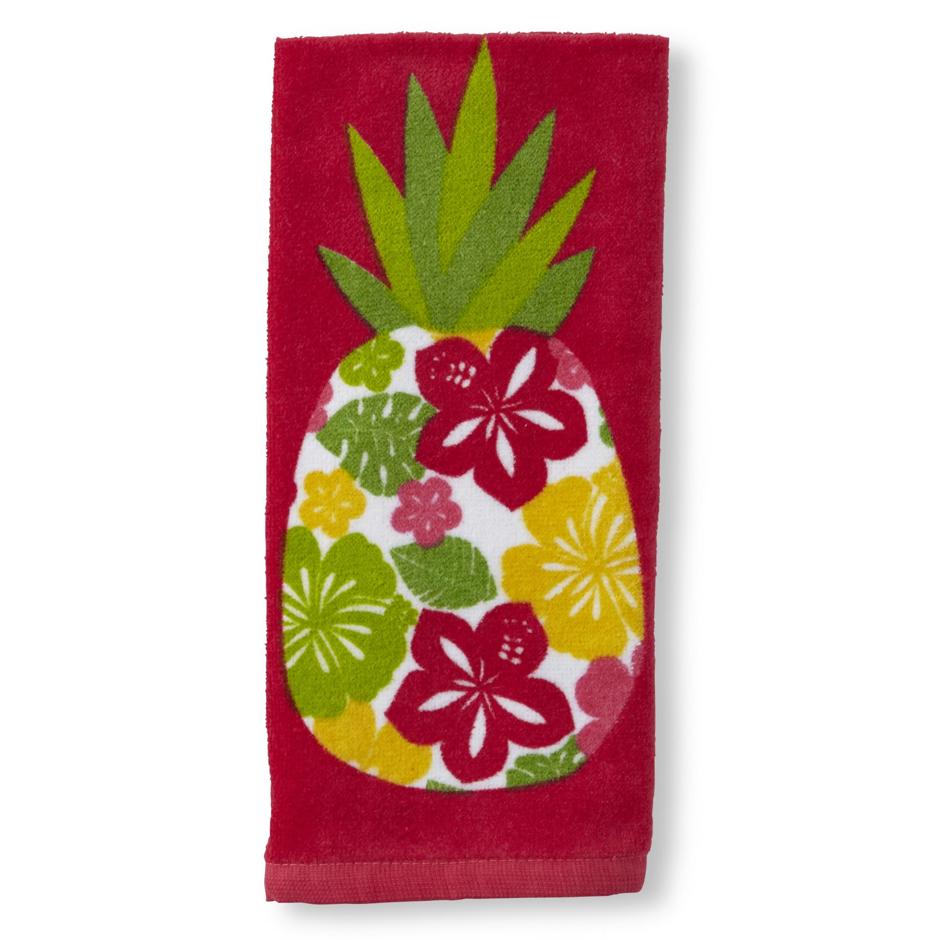 John Ritzenhaler Microfiber Kitchen Towel Pineapple