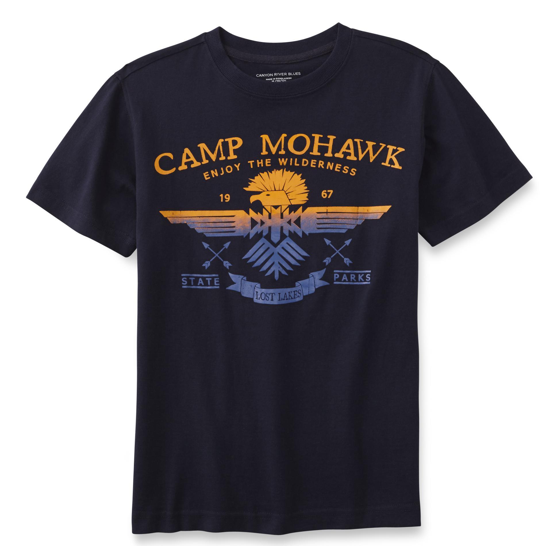 Canyon River Blues Boy's Graphic T-Shirt - Camp Mohawk