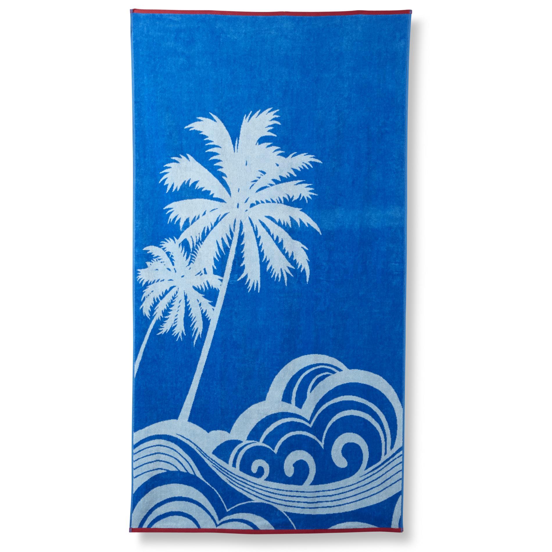 Essential Home Beach Towel - Palm Trees 34x64