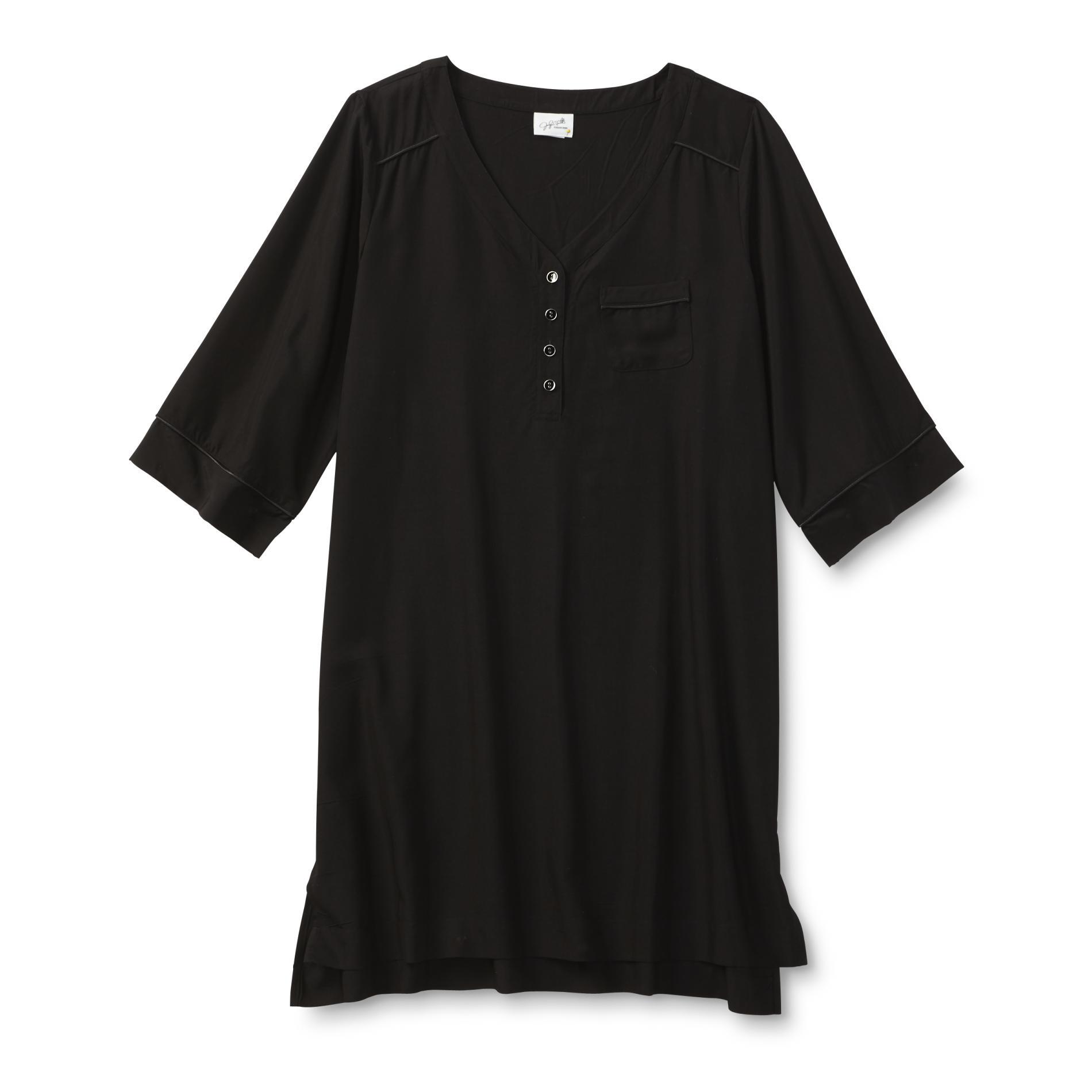 Jaclyn Smith Women's Pocket Nightgown