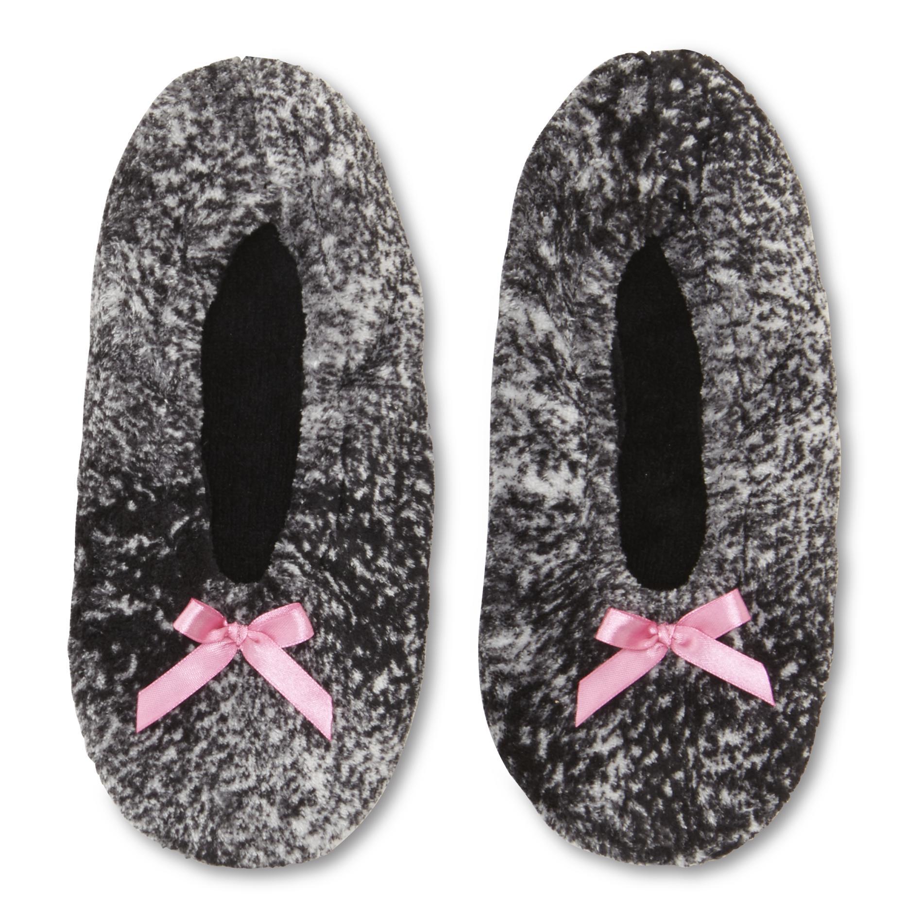 Joe Boxer Women's Plush Fleece Slipper Socks
