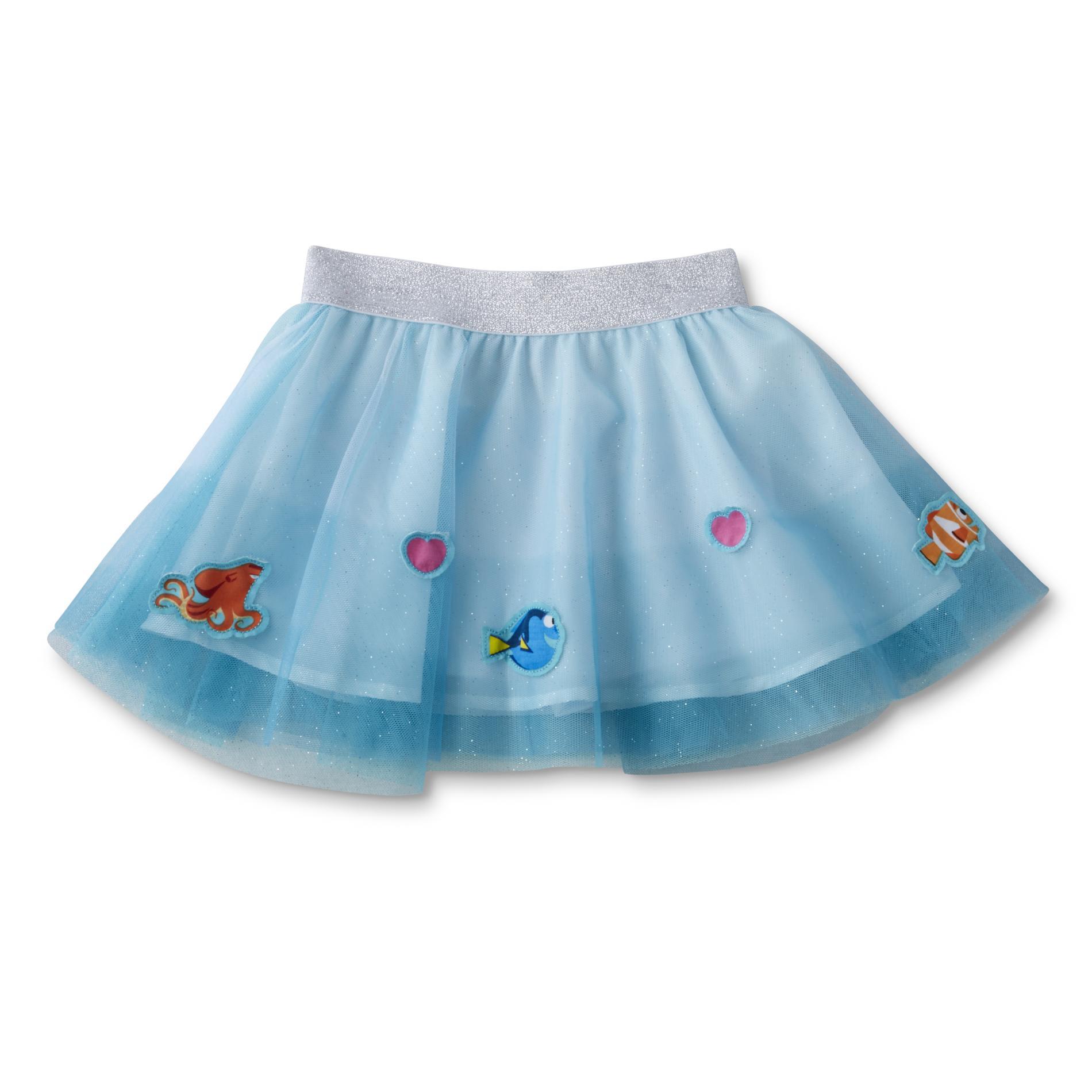 Disney Finding Dory Girl's Scooter Skirt