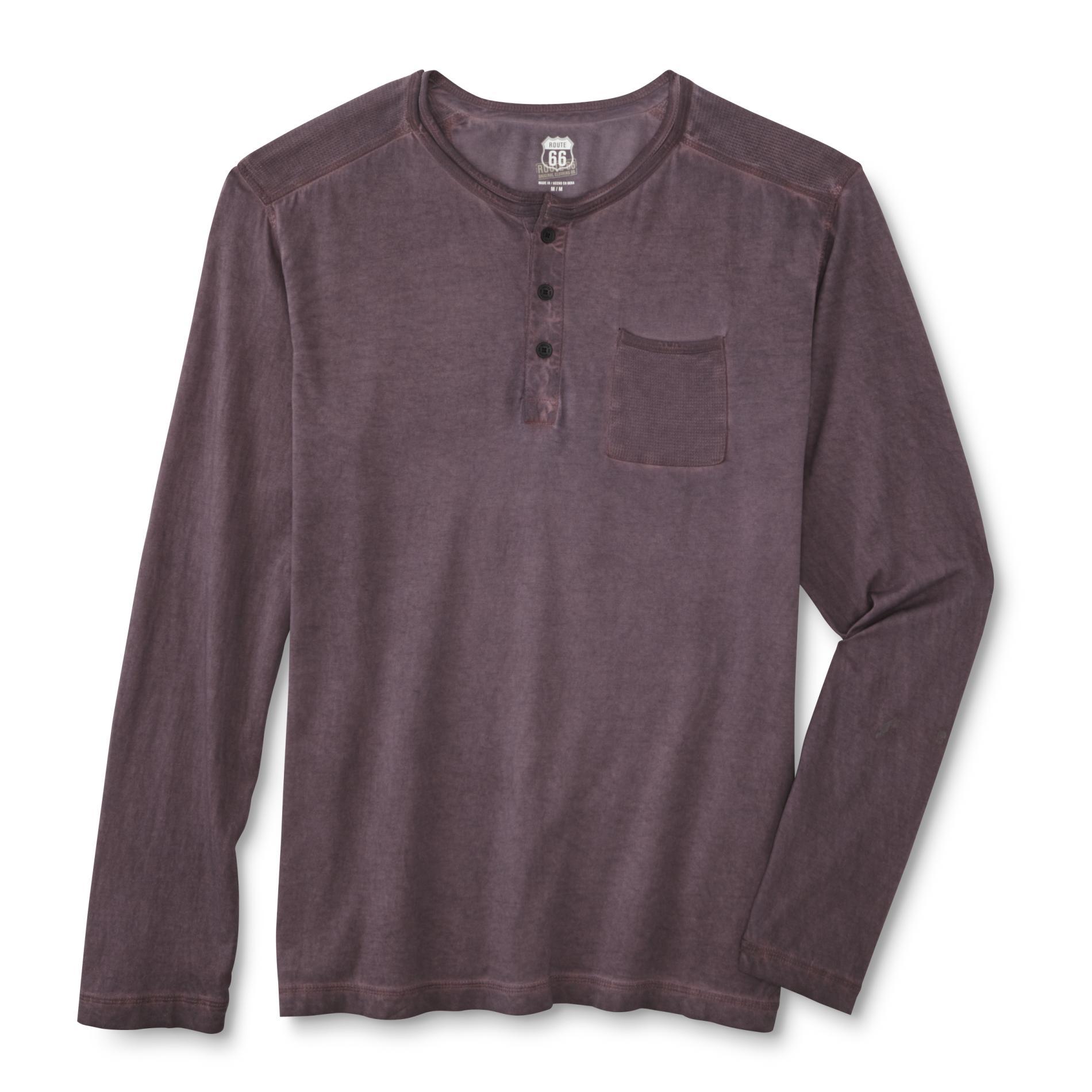 Route 66 Men's Henley Shirt