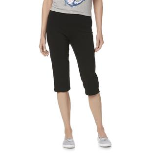 25c81ce5da3 Basic Editions Women s Capri Leggings