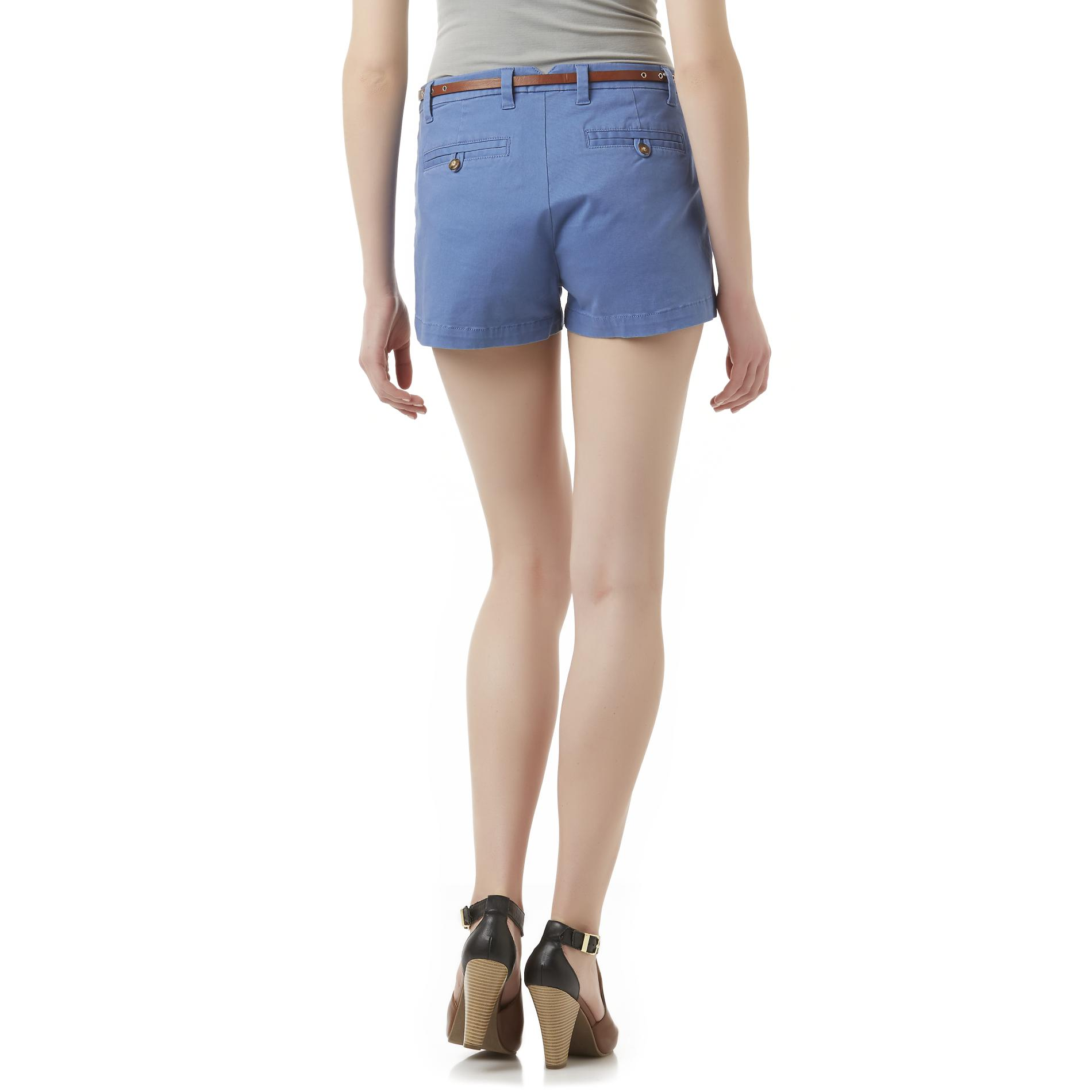 Bongo Junior's Belted Shorts