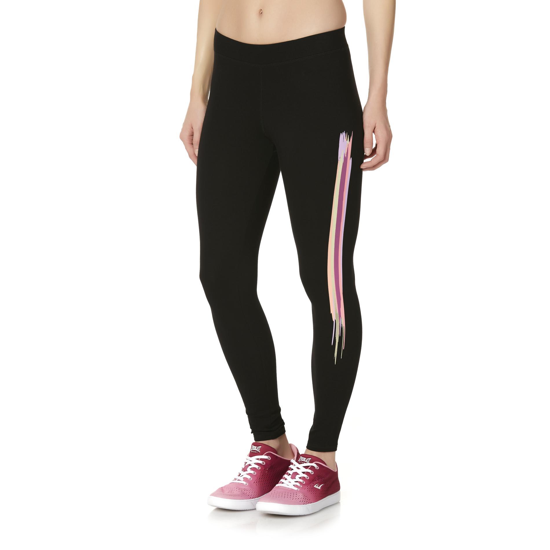Everlast® Sport Women's Athletic Leggings - Striped PartNumber: A012688211 MfgPartNumber: WS8EK53201MI
